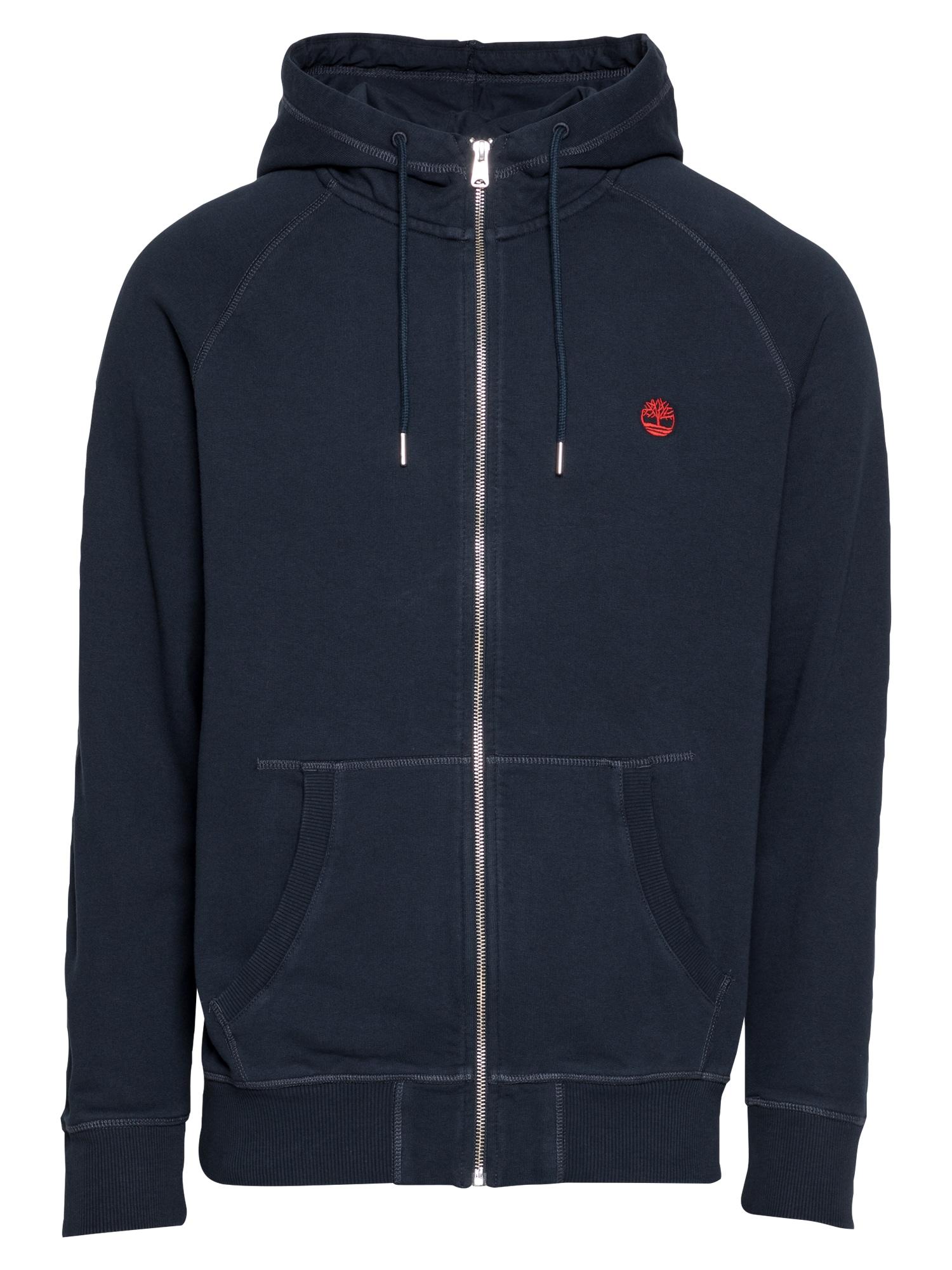 TIMBERLAND Džemperis raudona / tamsiai mėlyna