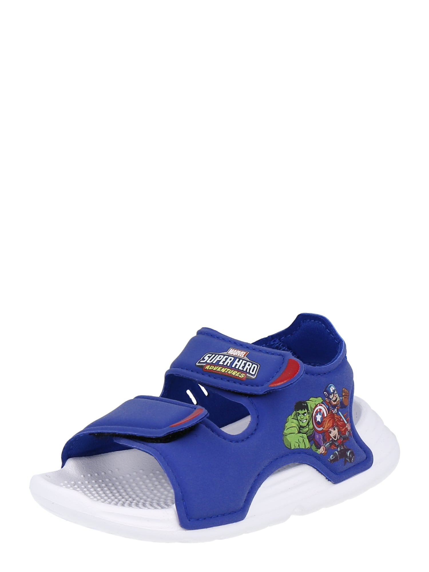 ADIDAS PERFORMANCE Sandalai / maudymosi batai mėlyna / žalia / raudona / purpurinė / balta