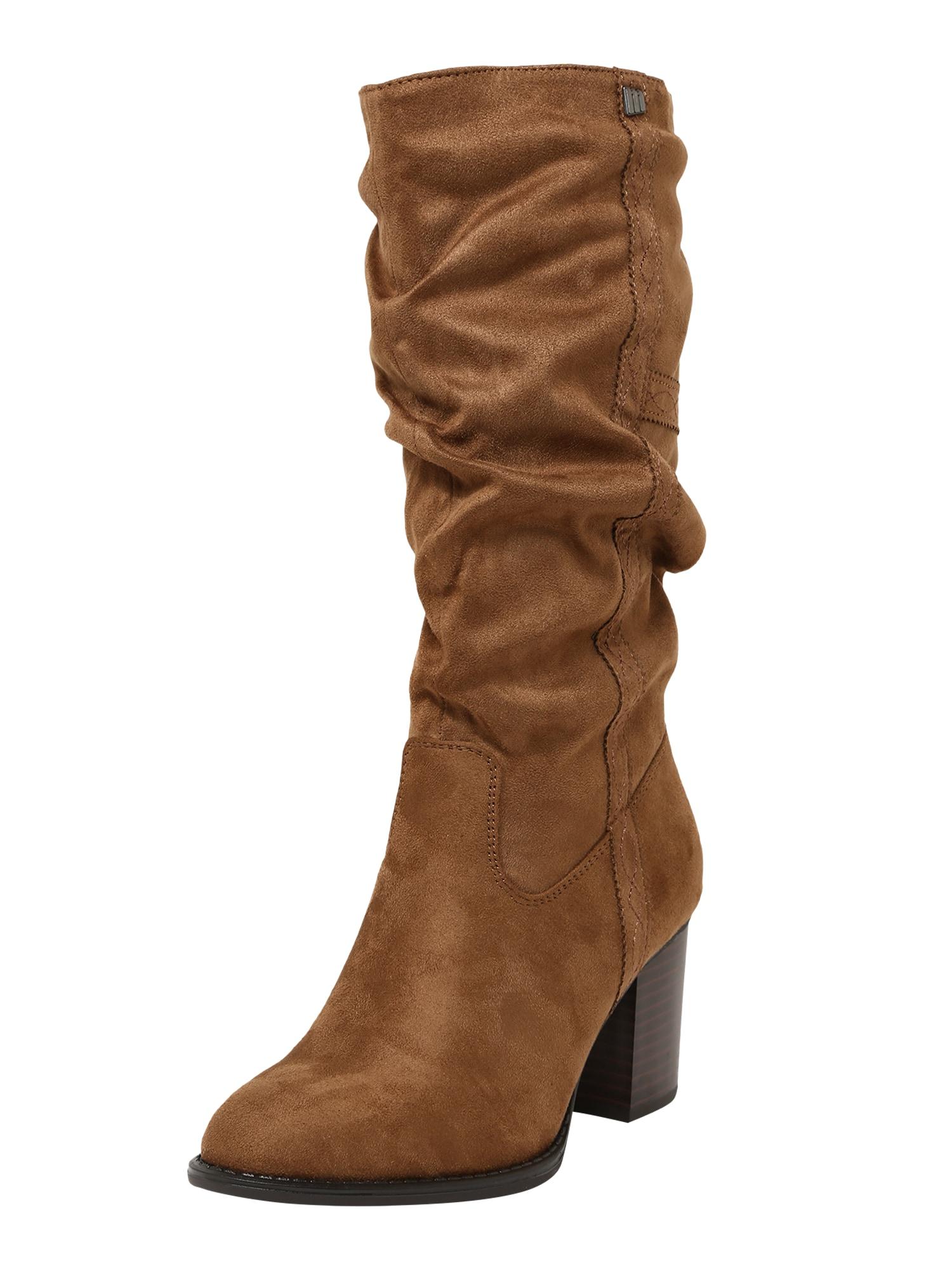 MTNG Ilgaauliai batai virš kelių 'Miriana' ruda