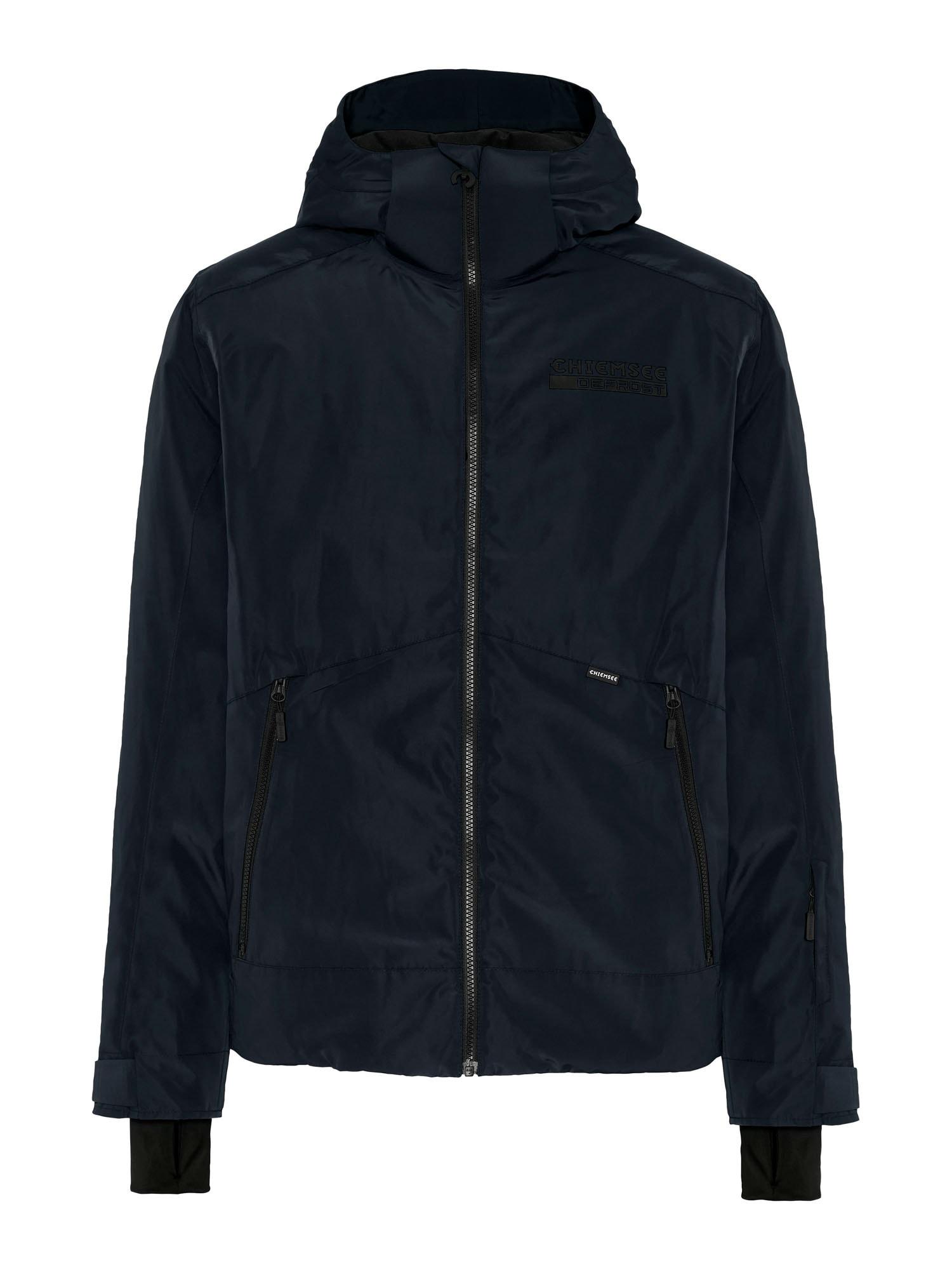 CHIEMSEE Outdoorová bunda 'THREDBO'  tmavě šedá / černá / bílá
