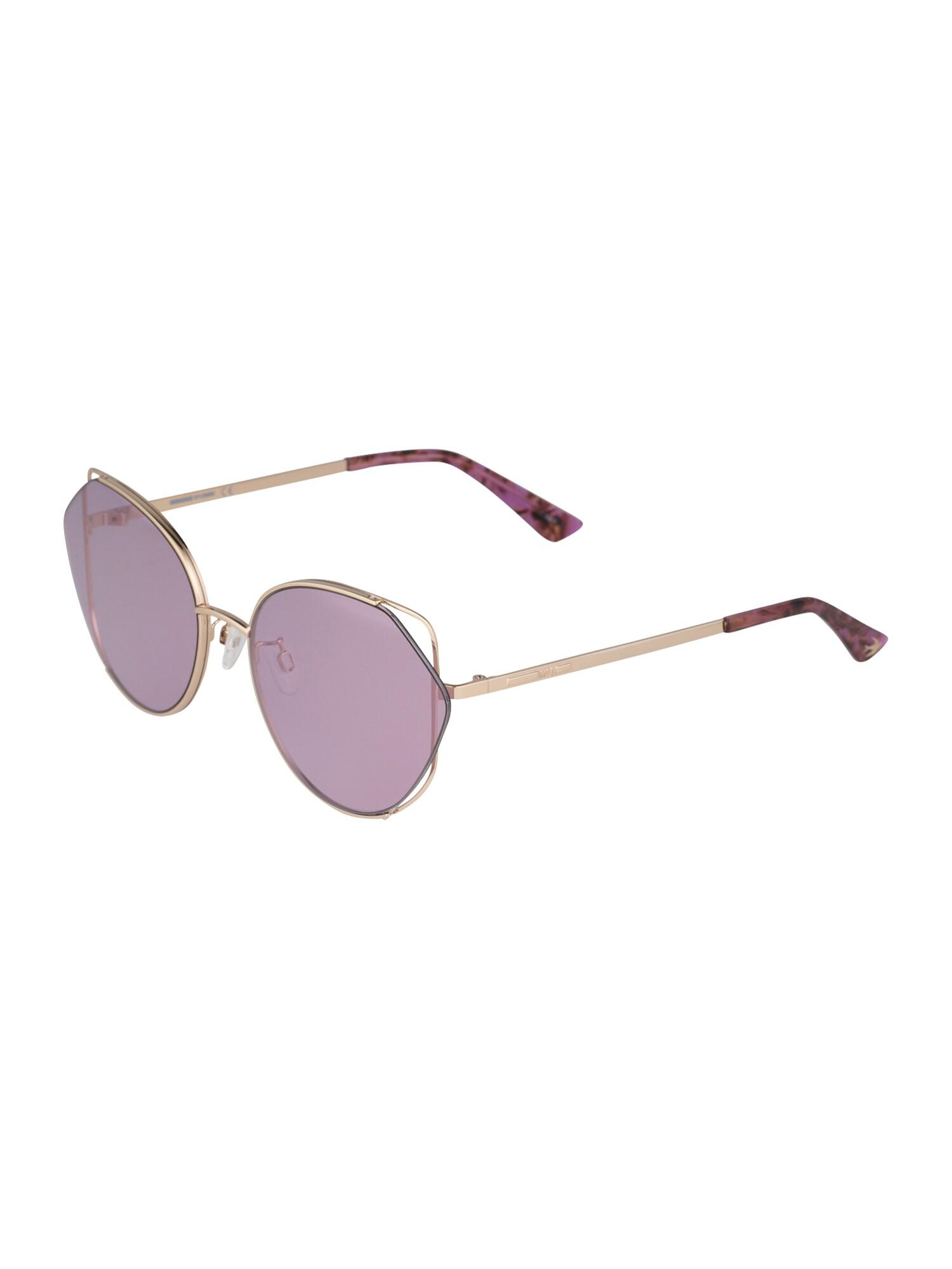 McQ Alexander McQueen Sluneční brýle 'MQ0286SA 004'  fialkově modrá / zlatá