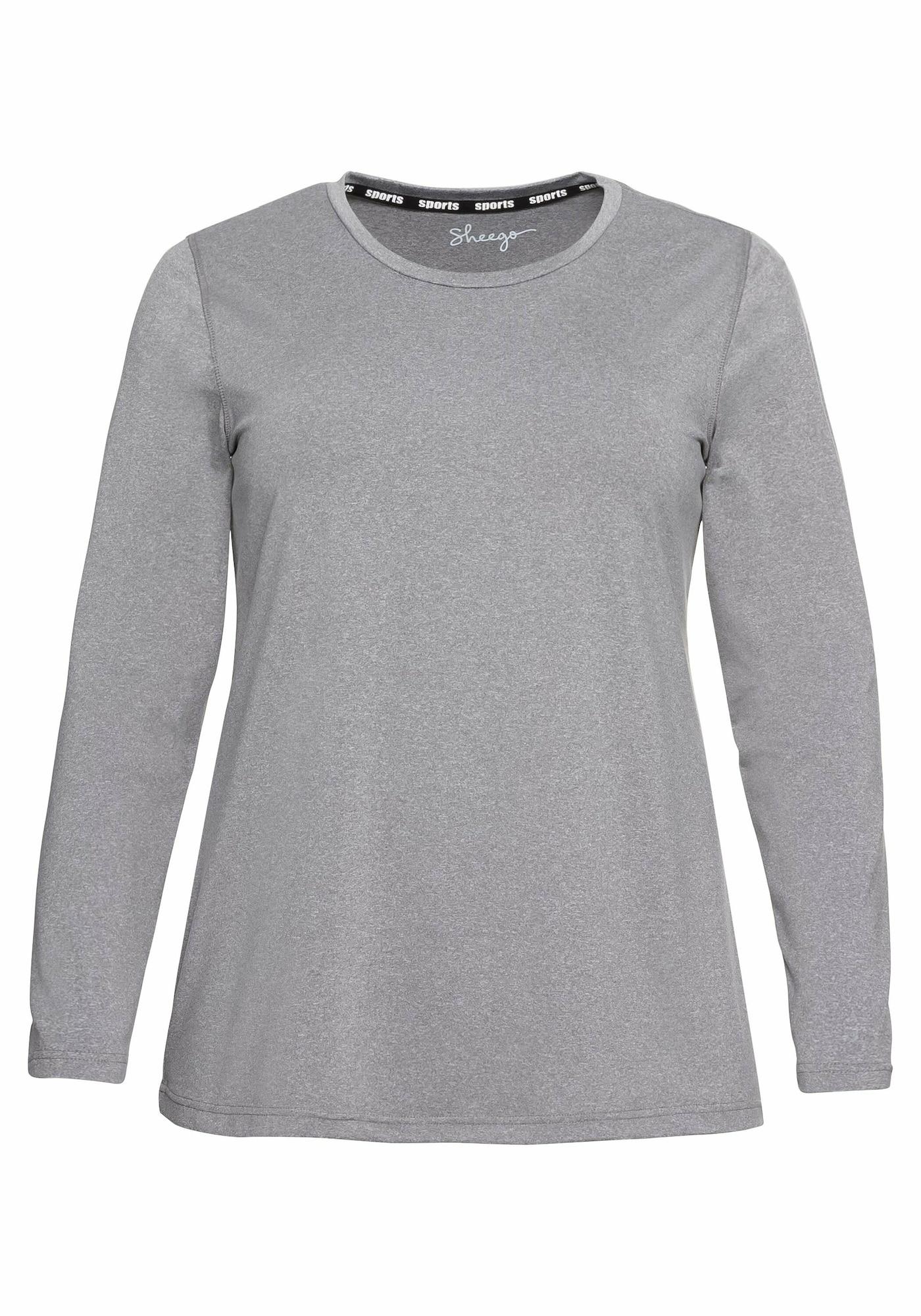 SHEEGO Sportiniai marškinėliai margai pilka