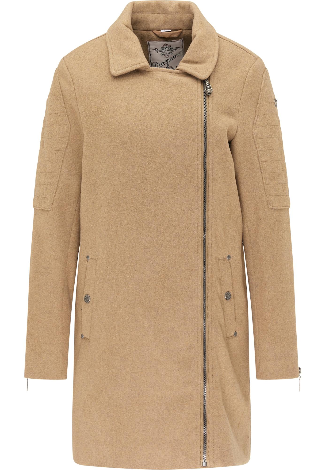 DreiMaster Vintage Demisezoninis paltas smėlio