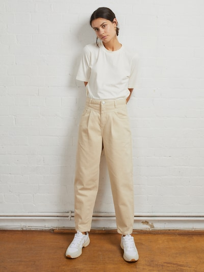 CAROLYN 80'S TAPERED JEANS MIT PASSE