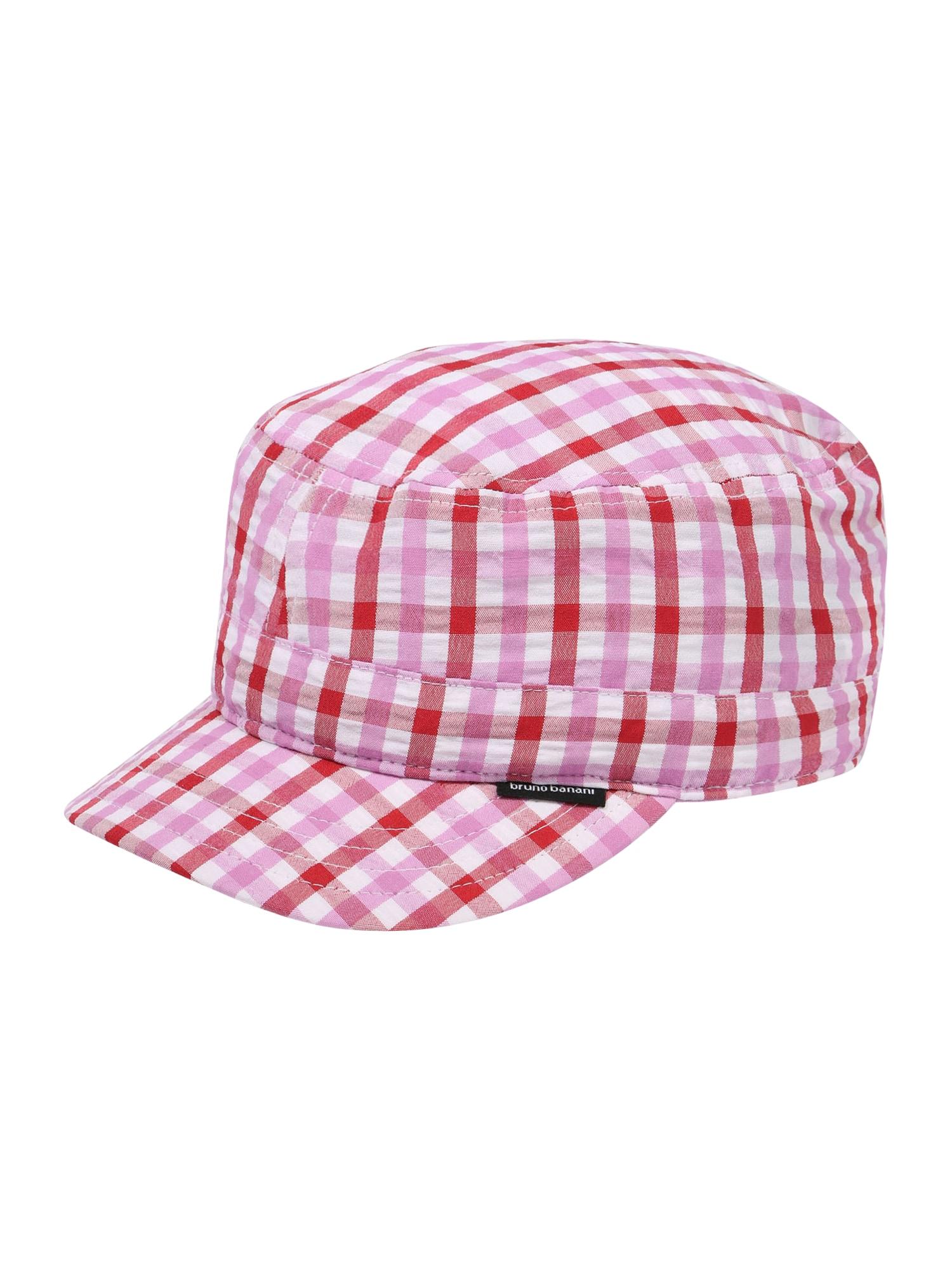 BRUNO BANANI Kepurė raudona / balta / rožinė