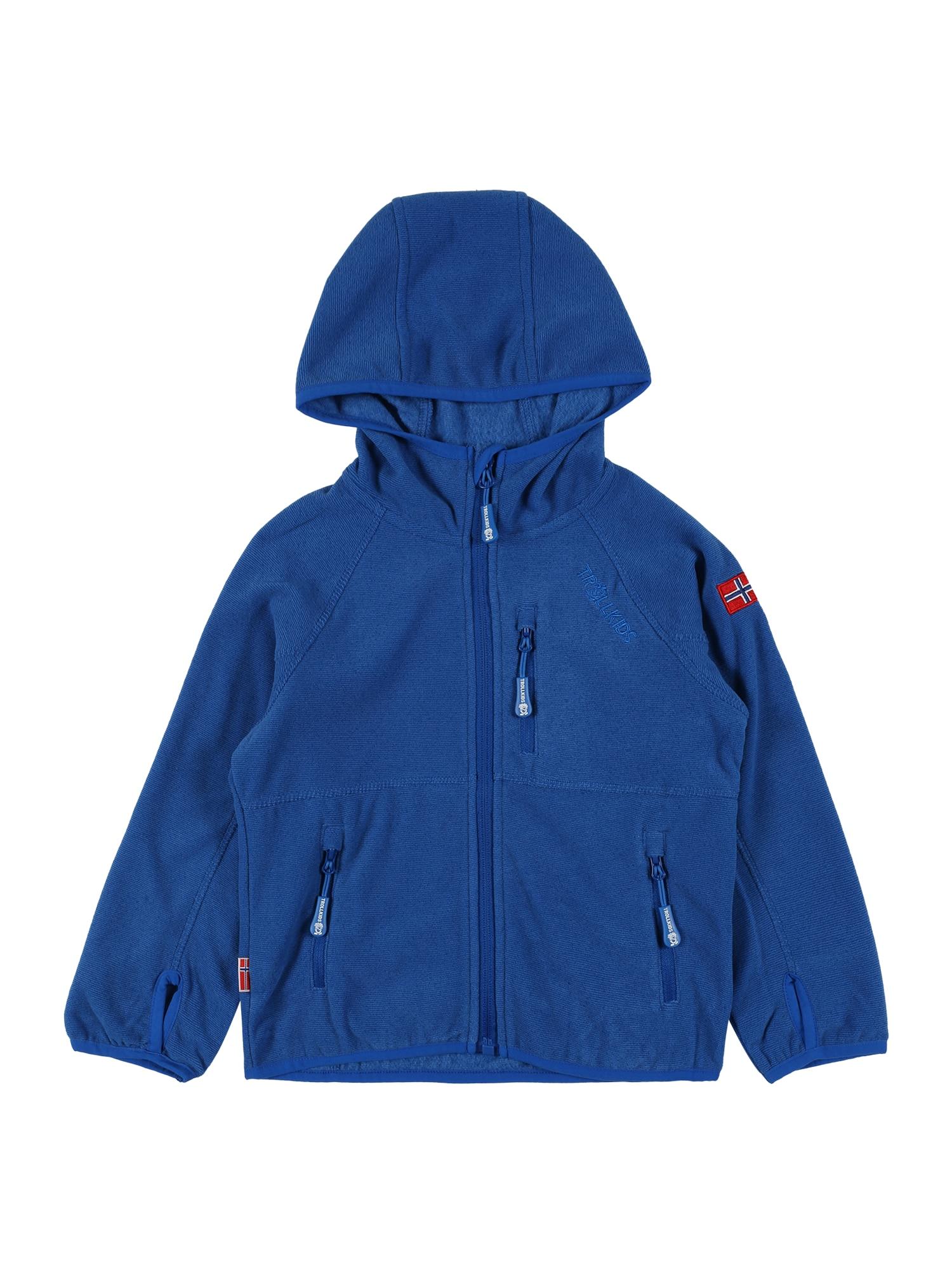 TROLLKIDS Funkcinis flisinis džemperis mėlyna