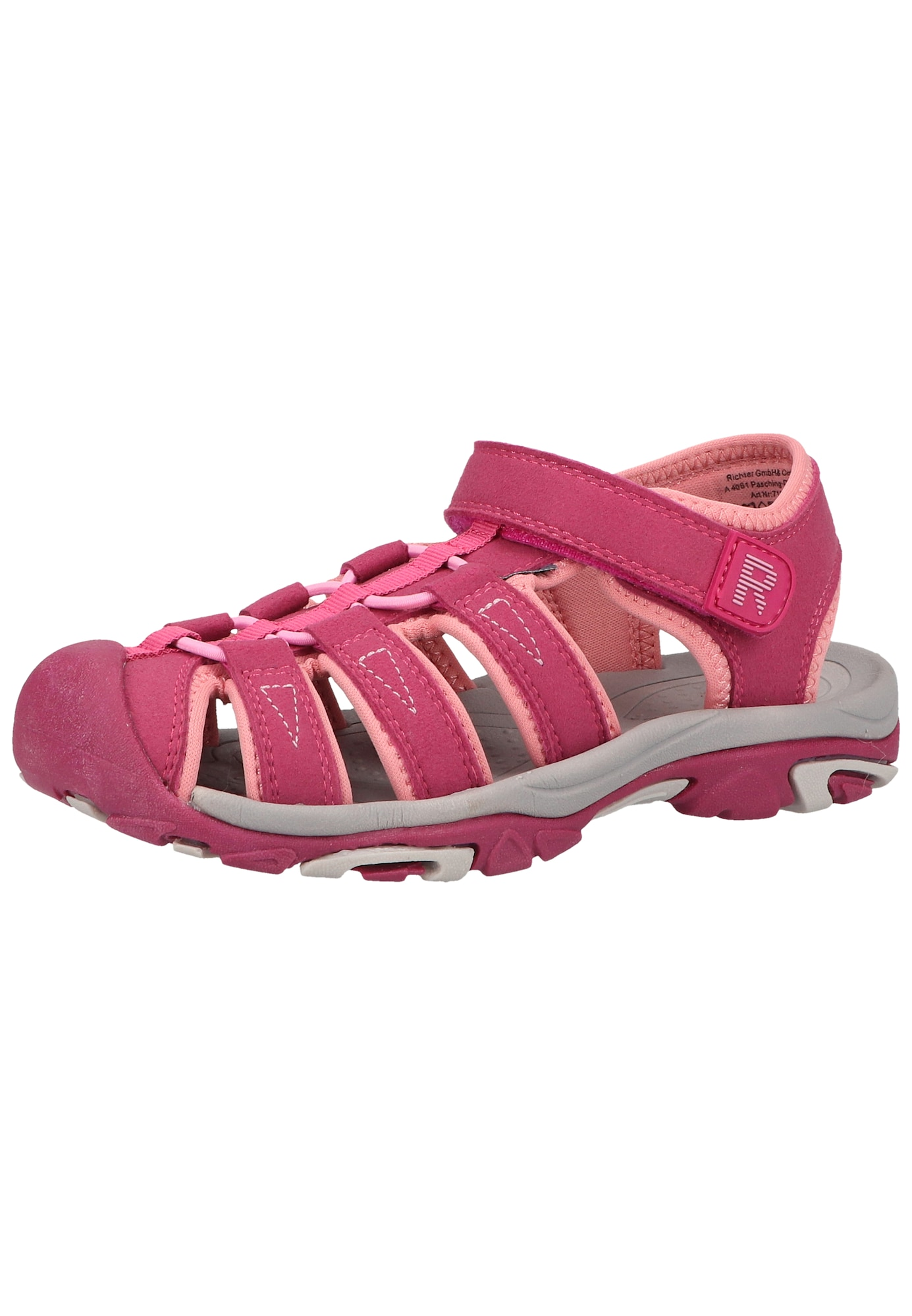 RICHTER Sandalai tamsiai rožinė / ryškiai rožinė spalva