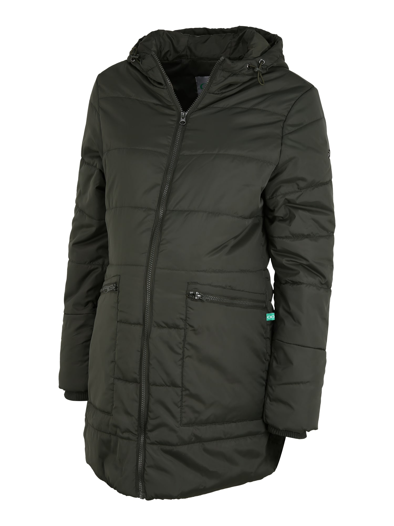 Modern Eternity Žieminis paltas 'Gianna' rusvai žalia