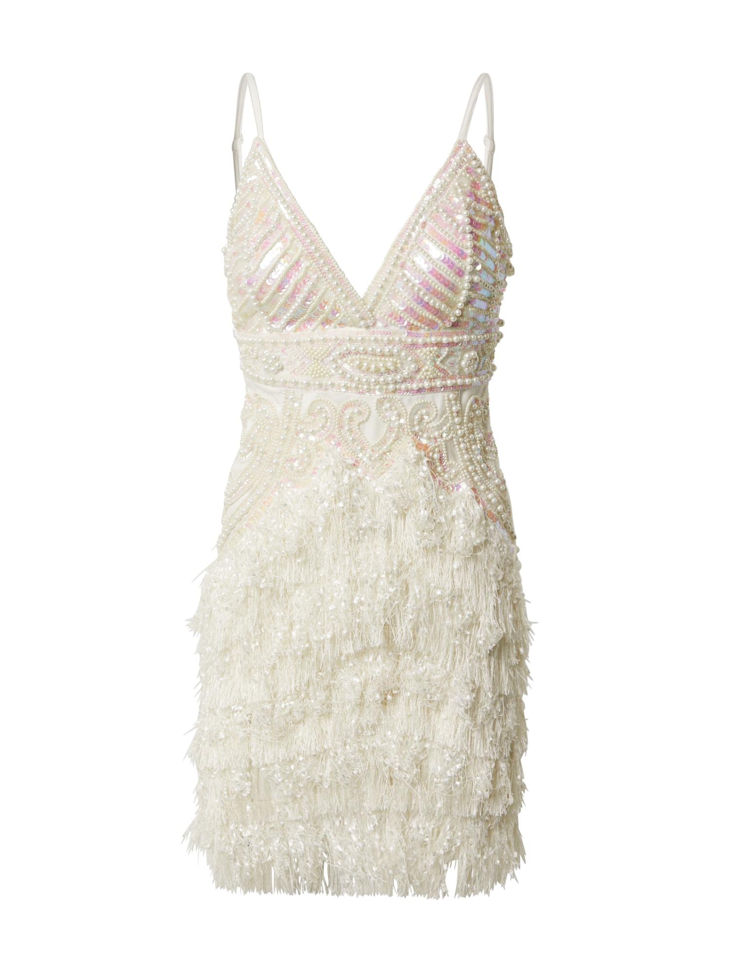 A STAR IS BORN Kokteilinė suknelė balta