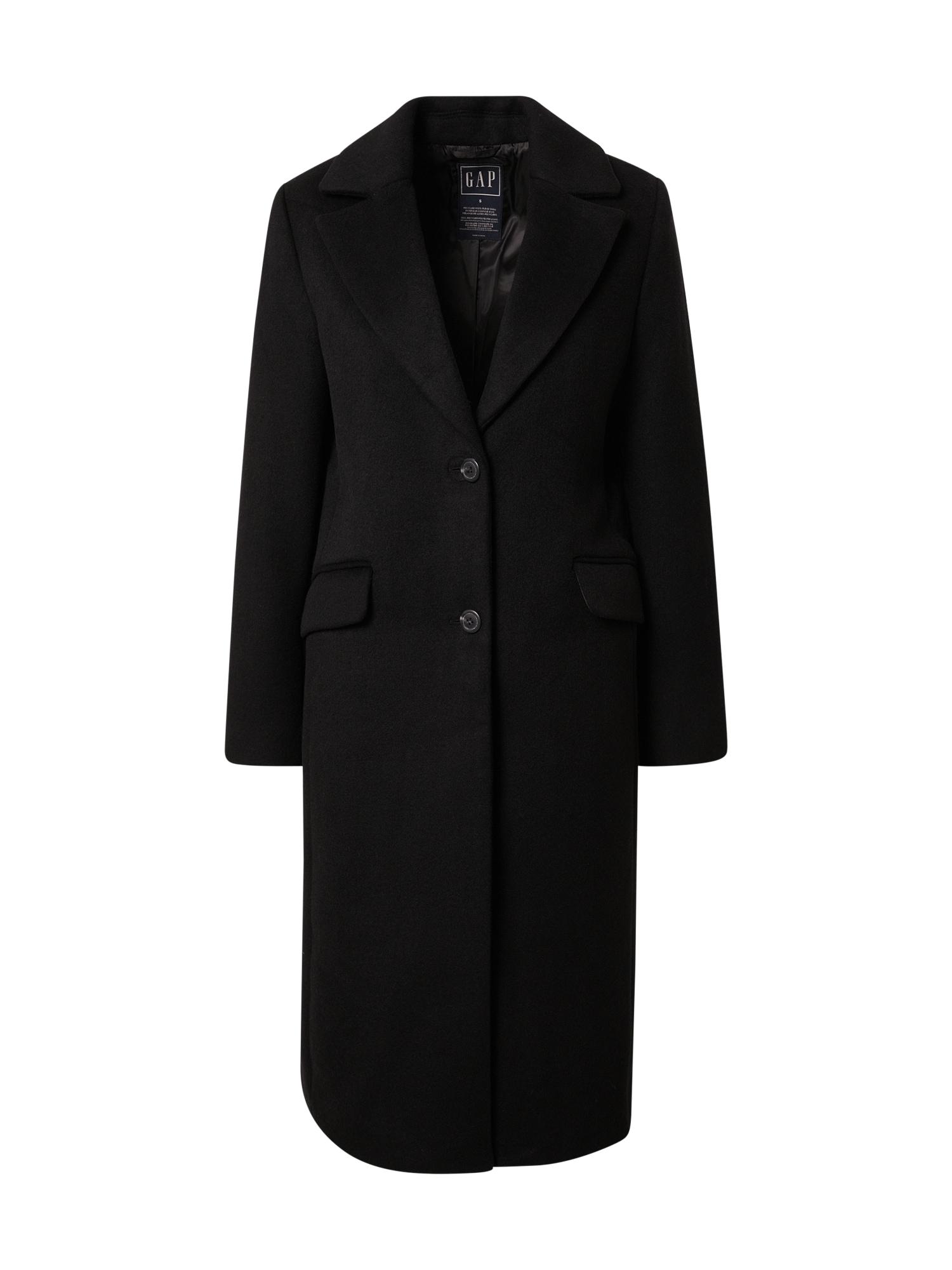 GAP Demisezoninis paltas juoda