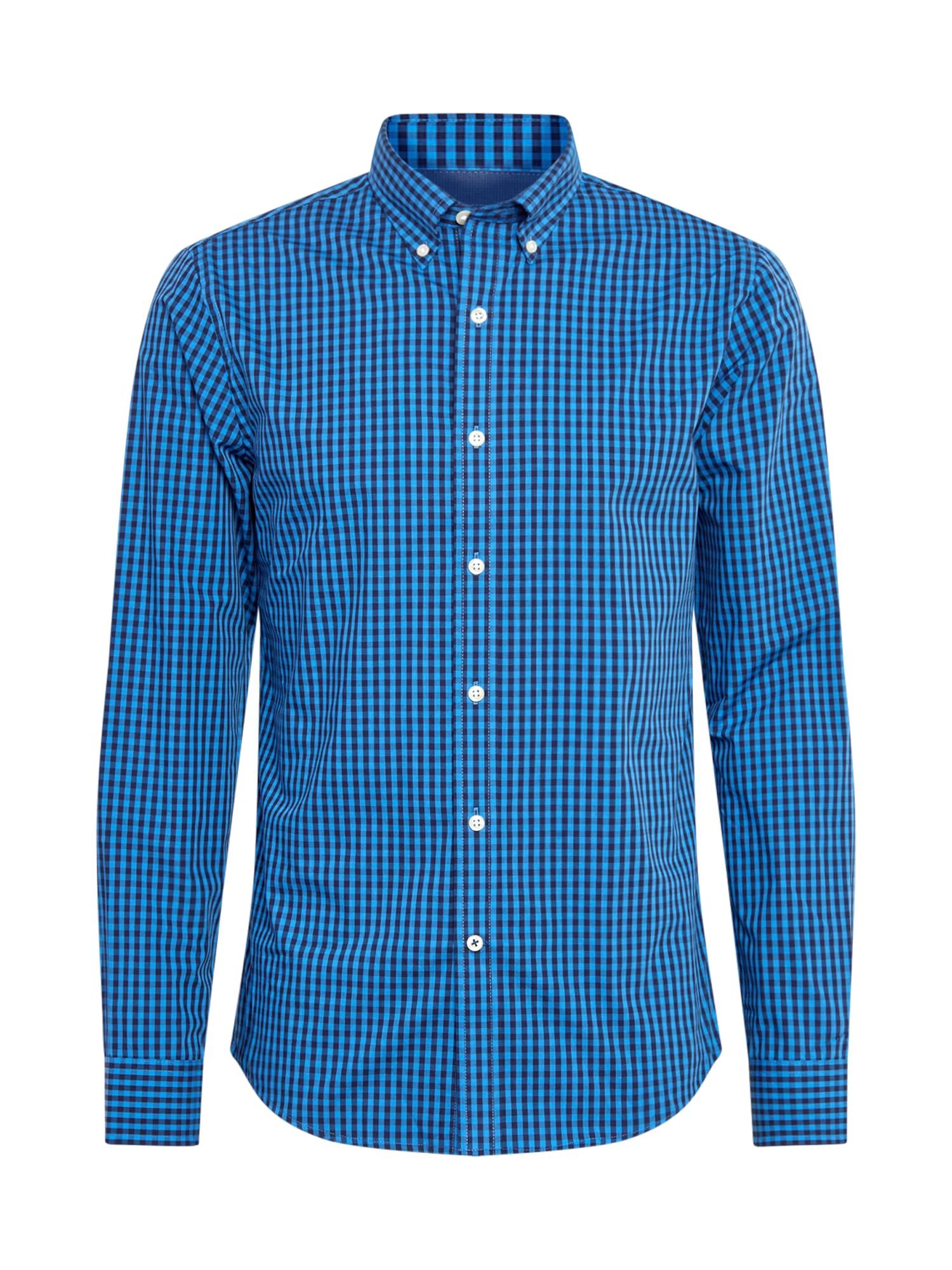 IZOD Společenská košile  tmavě modrá / černá