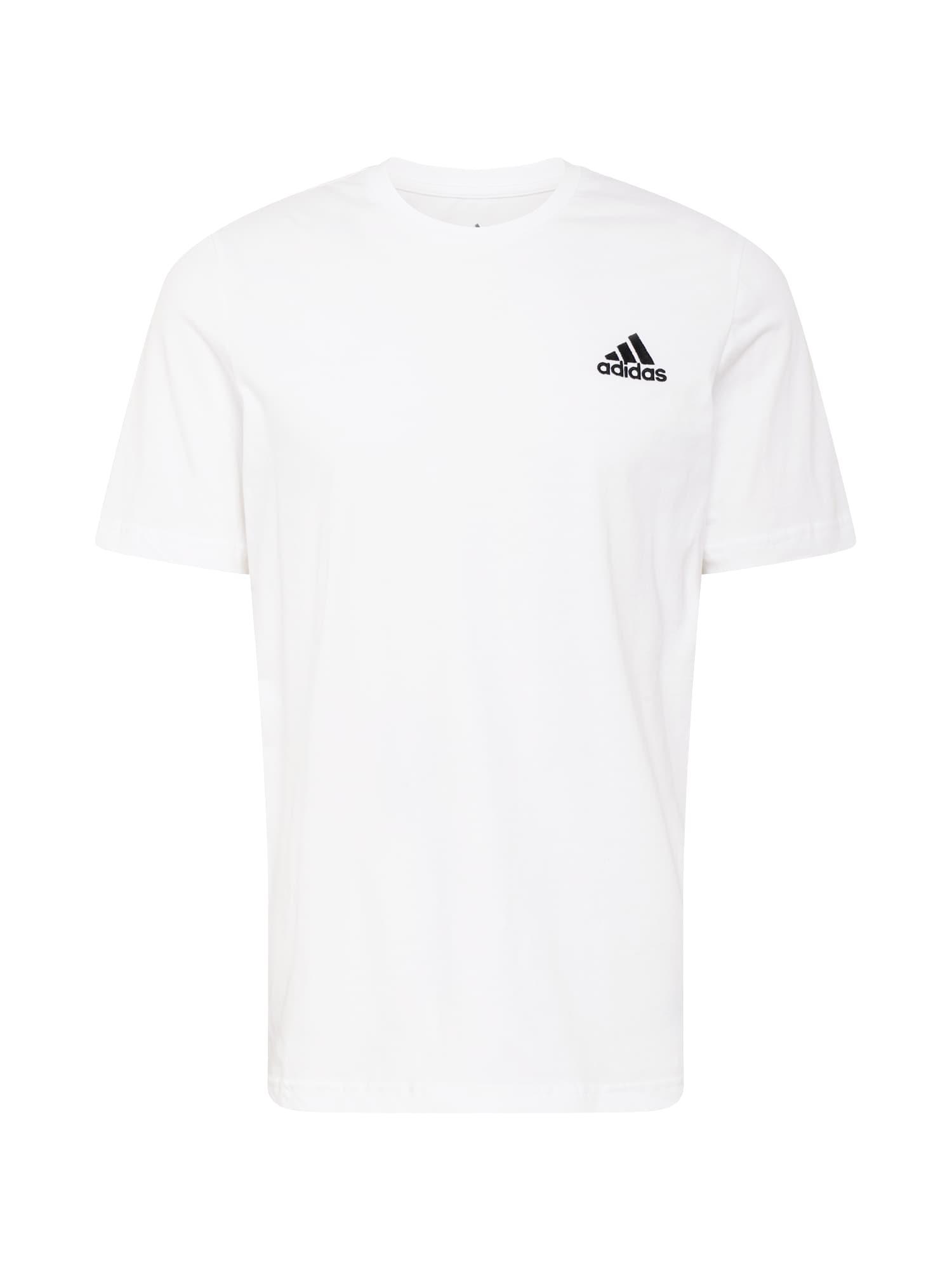 ADIDAS PERFORMANCE Funkční tričko  černá / offwhite