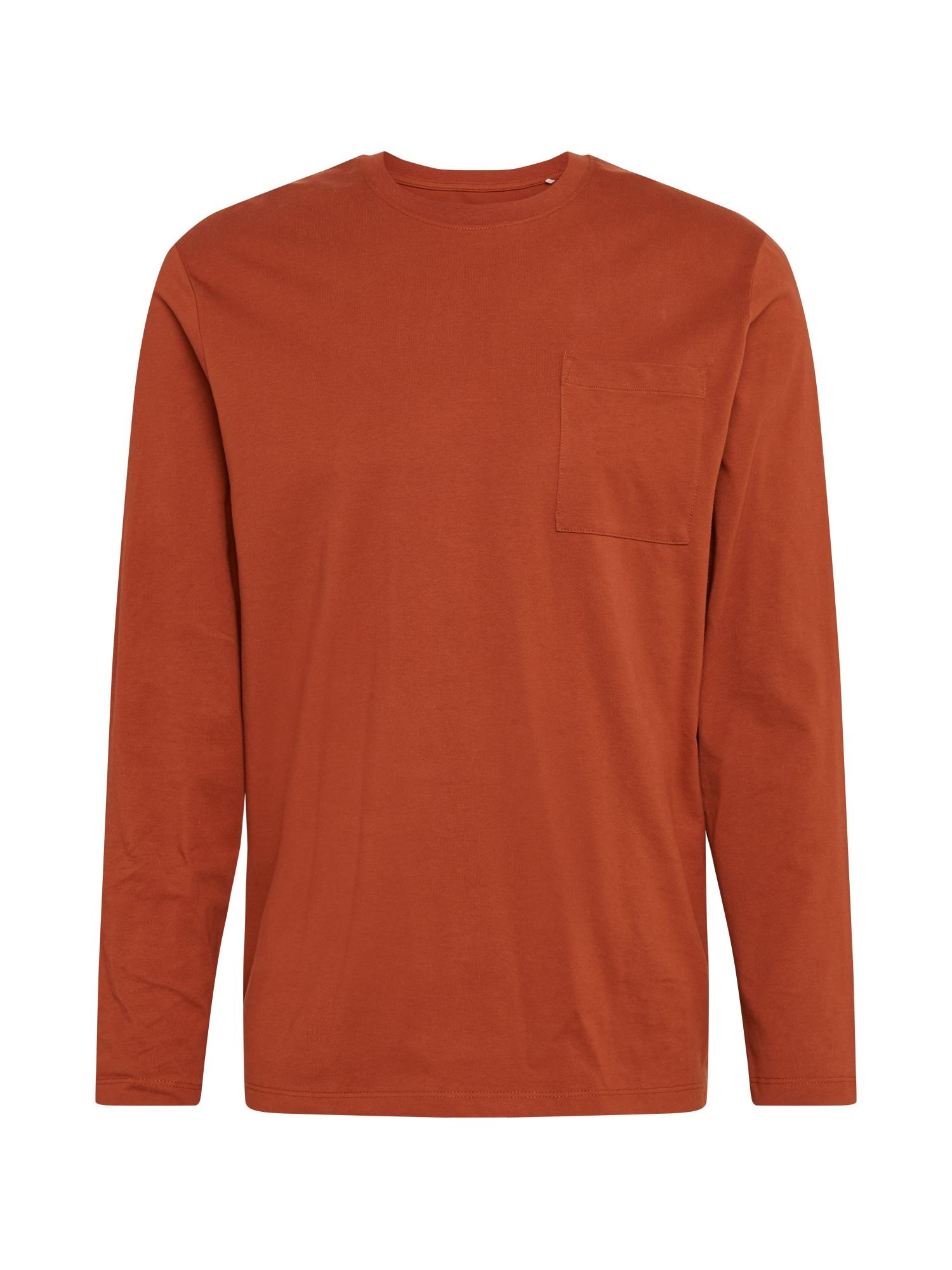 EDC BY ESPRIT Tričko  tmavě oranžová