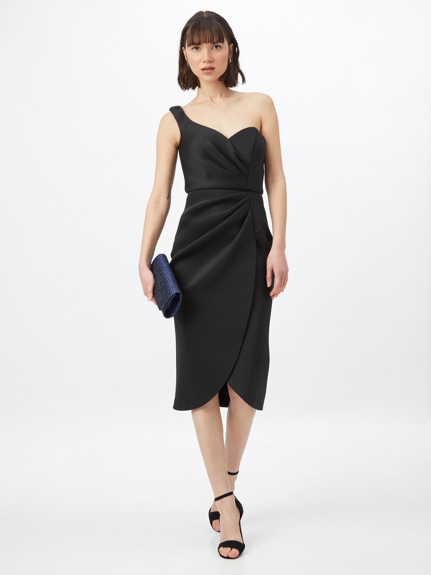 Jarlo Kokteilové šaty 'HANNE'  čierna.