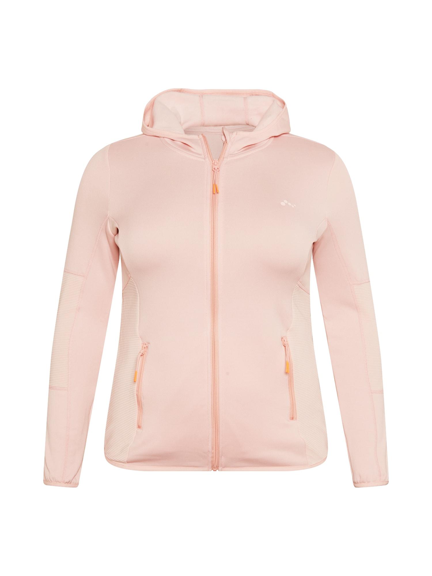 ONLY PLAY Funkcinis flisinis džemperis rožinė