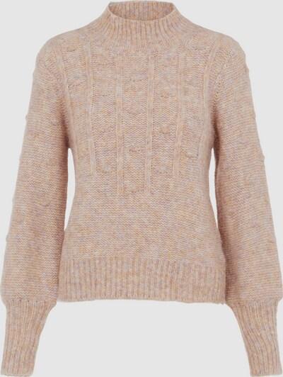 Object Vita Fox Langärmeliger Pullover mit Zopfmuster