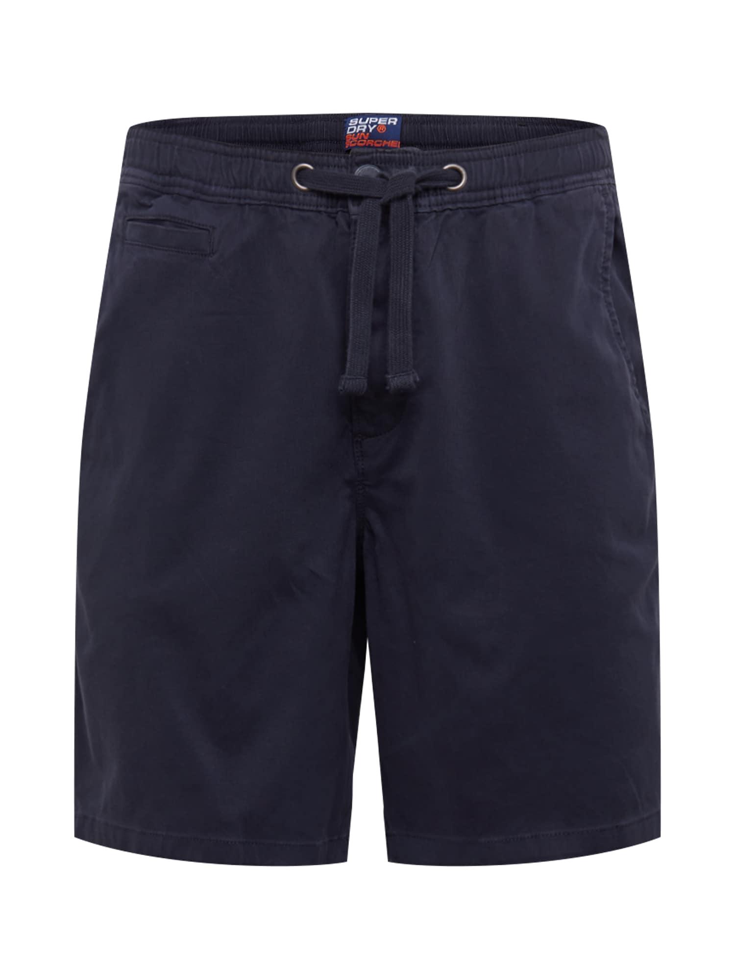 """Superdry """"Chino"""" stiliaus kelnės tamsiai mėlyna"""