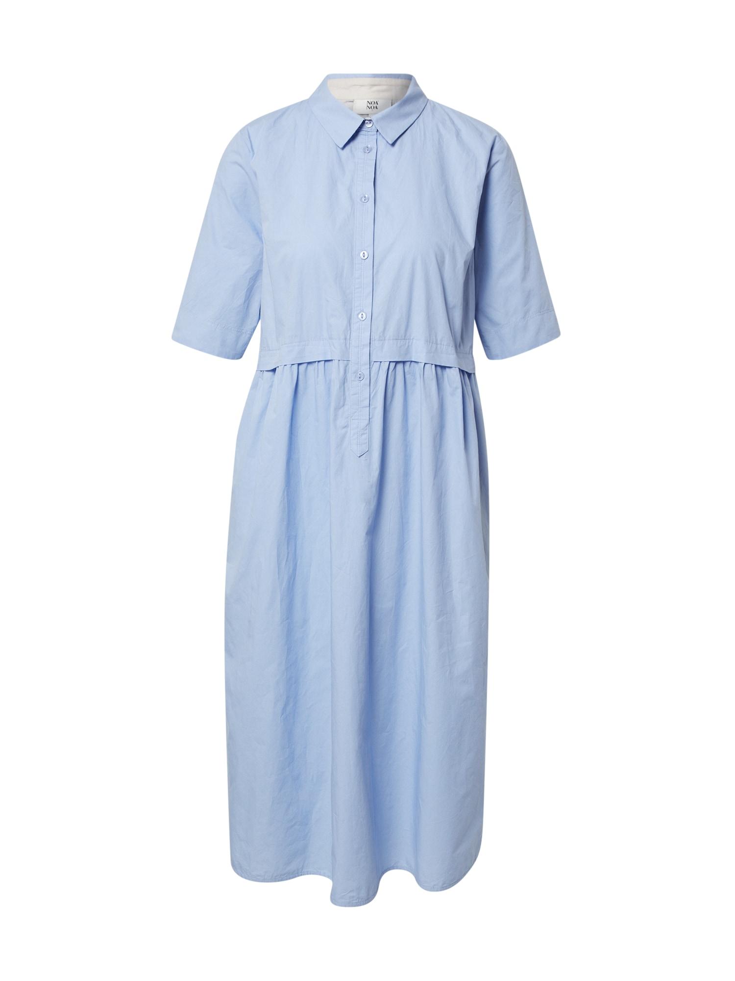 Noa Noa Palaidinės tipo suknelė mėlyna dūmų spalva
