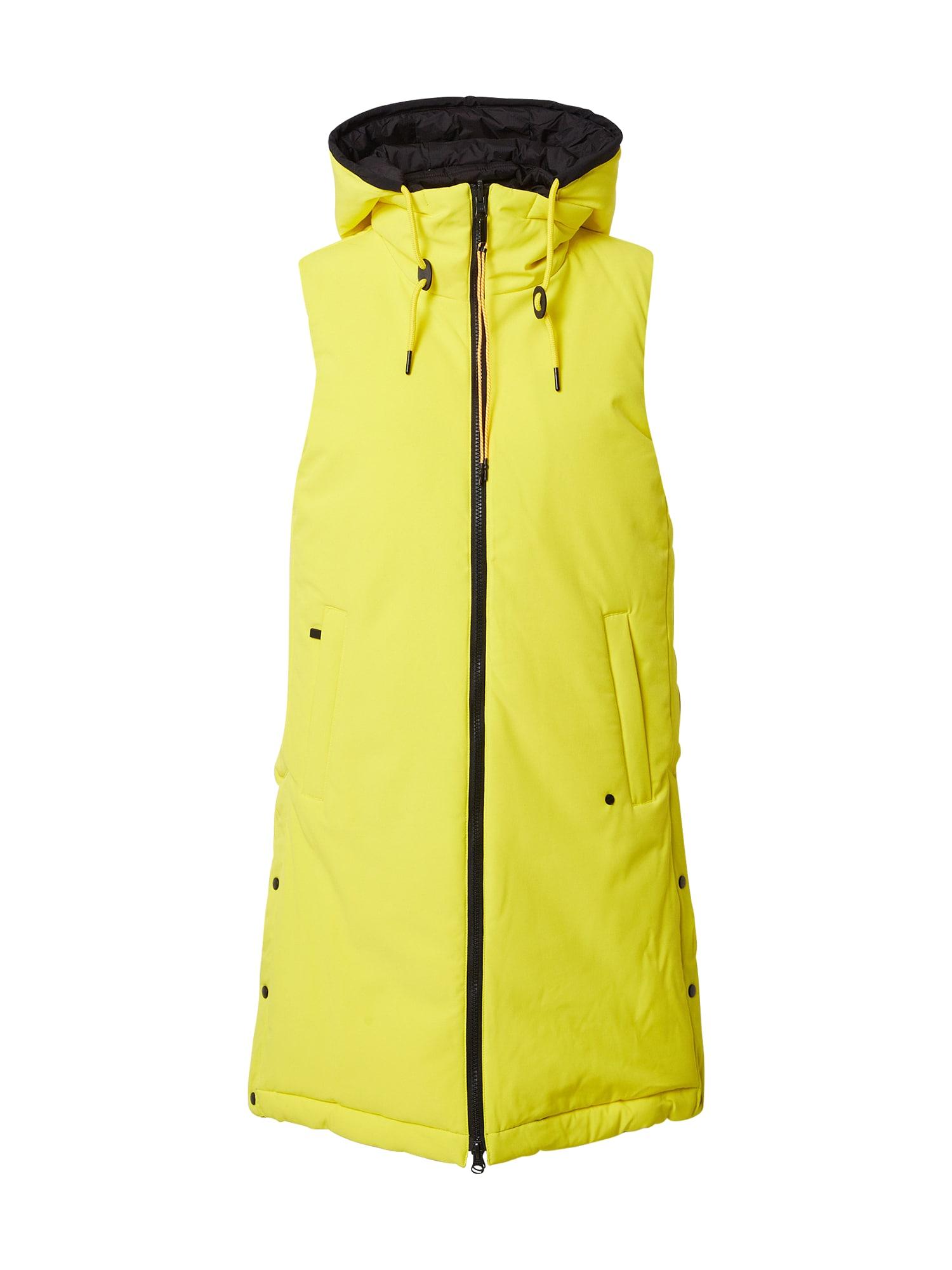 ICEPEAK Sportinė liemenė geltona / tamsiai mėlyna