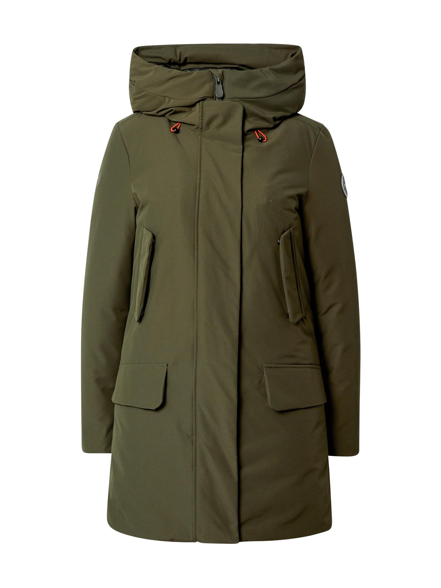 SAVE THE DUCK Žieminis paltas žalia