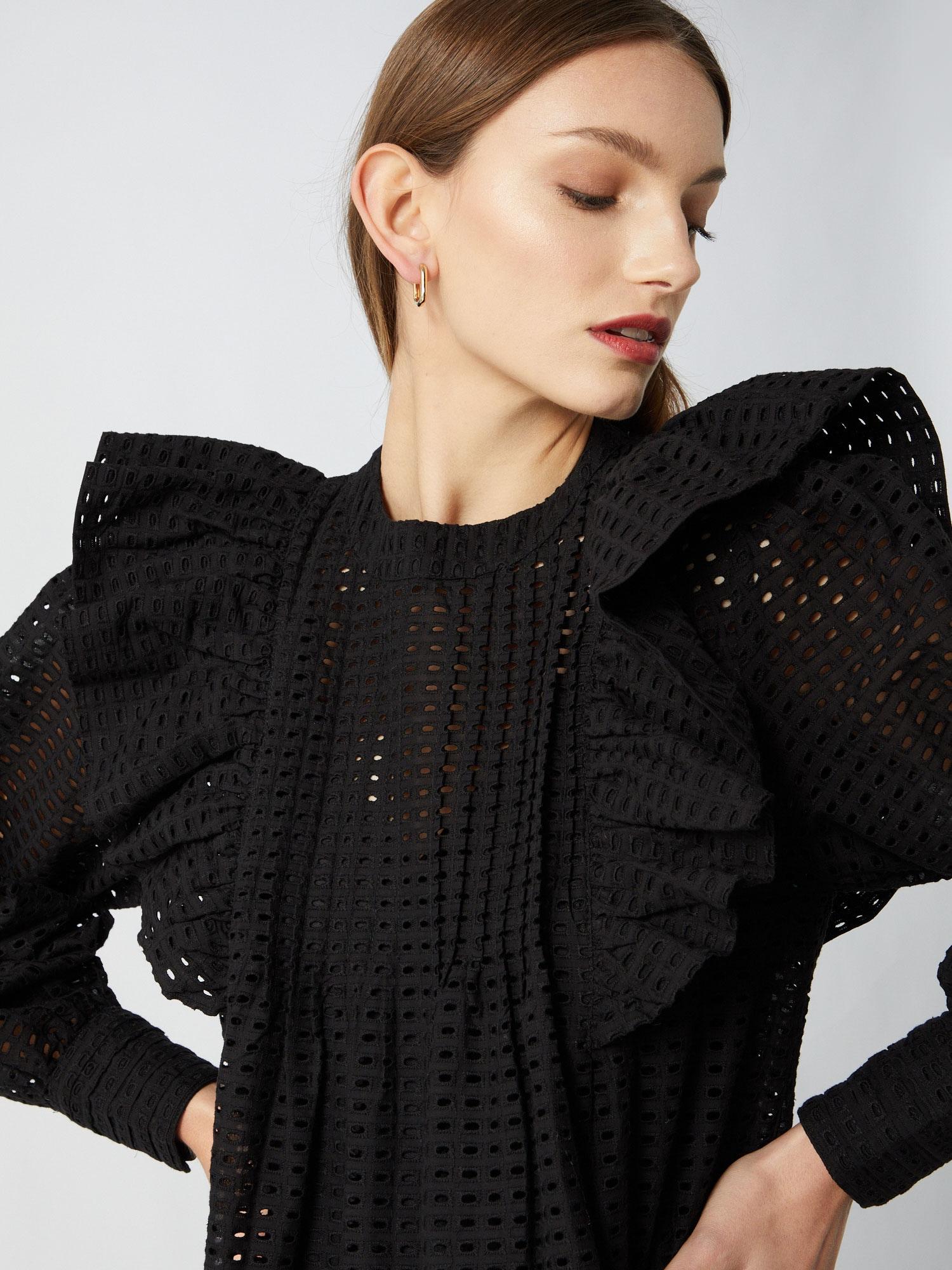 JUST FEMALE Kokteilové šaty 'Lyon'  čierna.