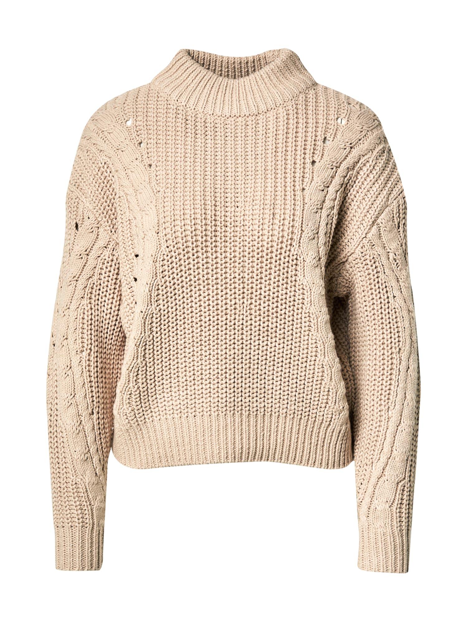 Another Label Megztinis 'Danni' smėlio