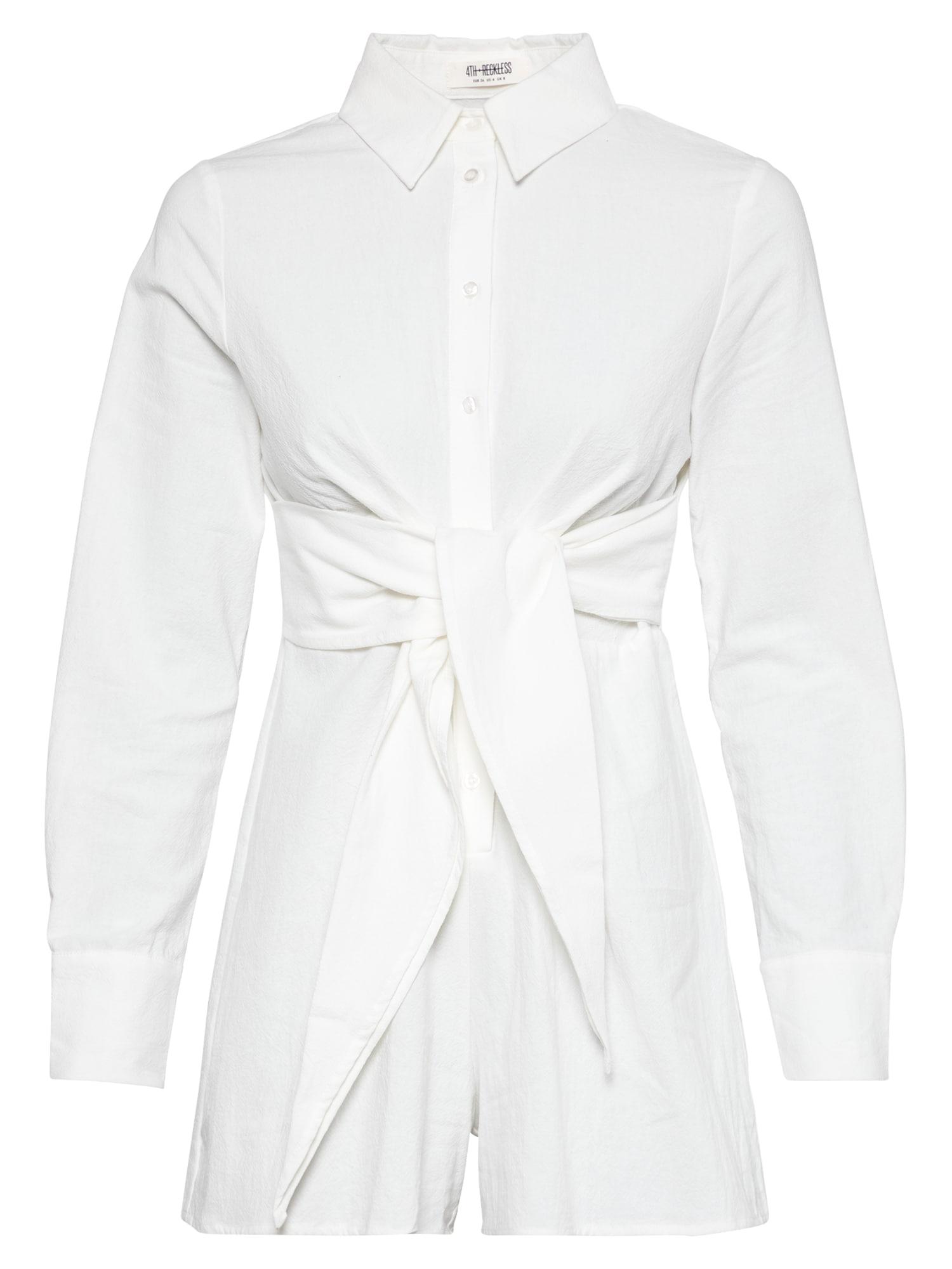 4th & Reckless Vienos dalies kostiumas balta