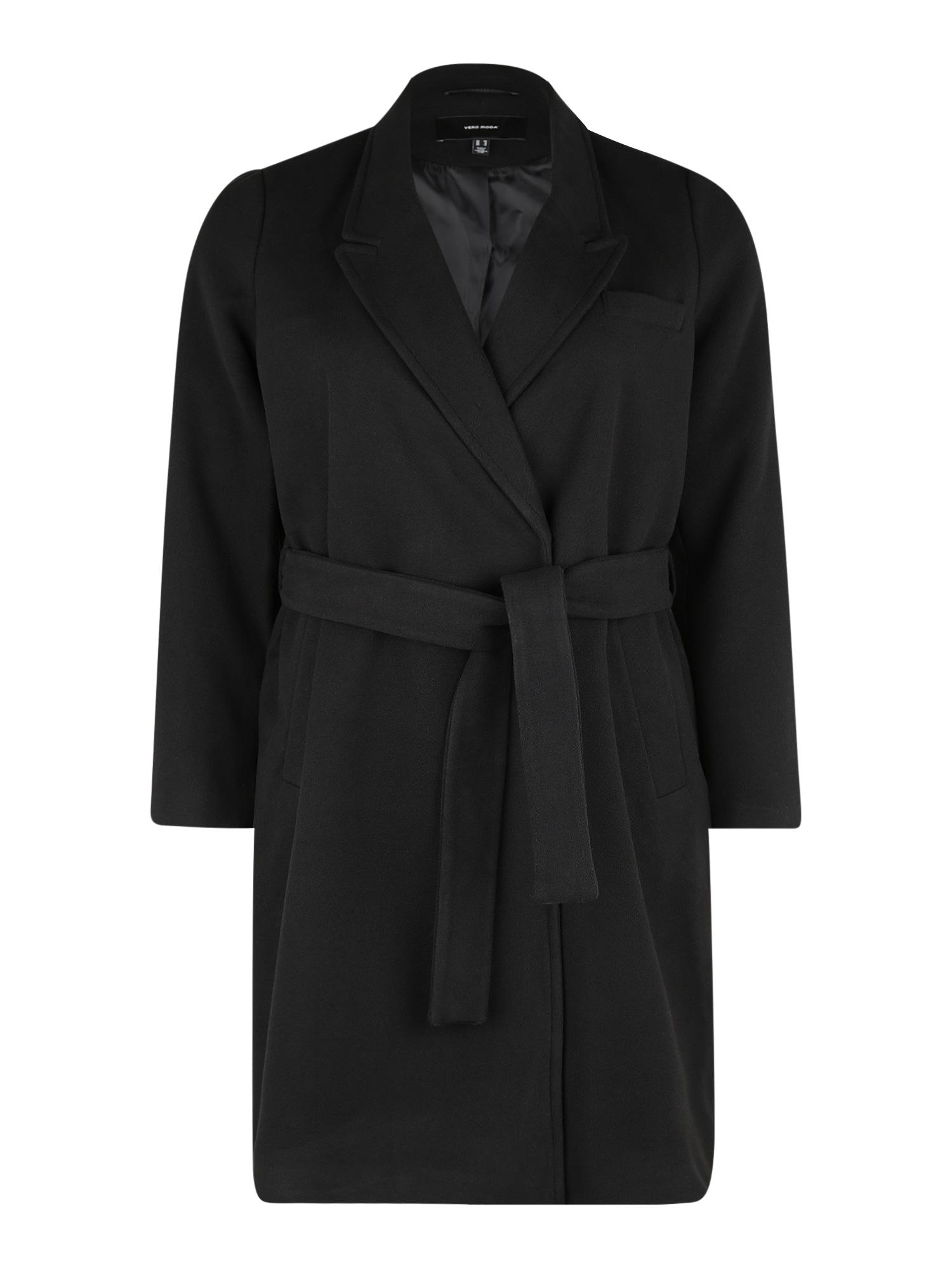 Vero Moda Curve Demisezoninis paltas juoda