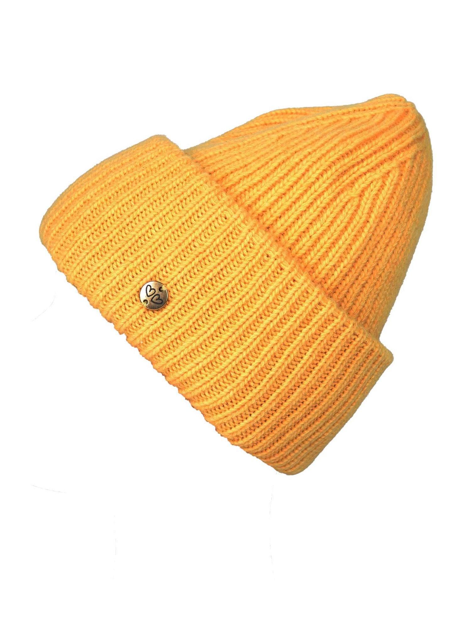 Zwillingsherz Megzta kepurė aukso geltonumo spalva