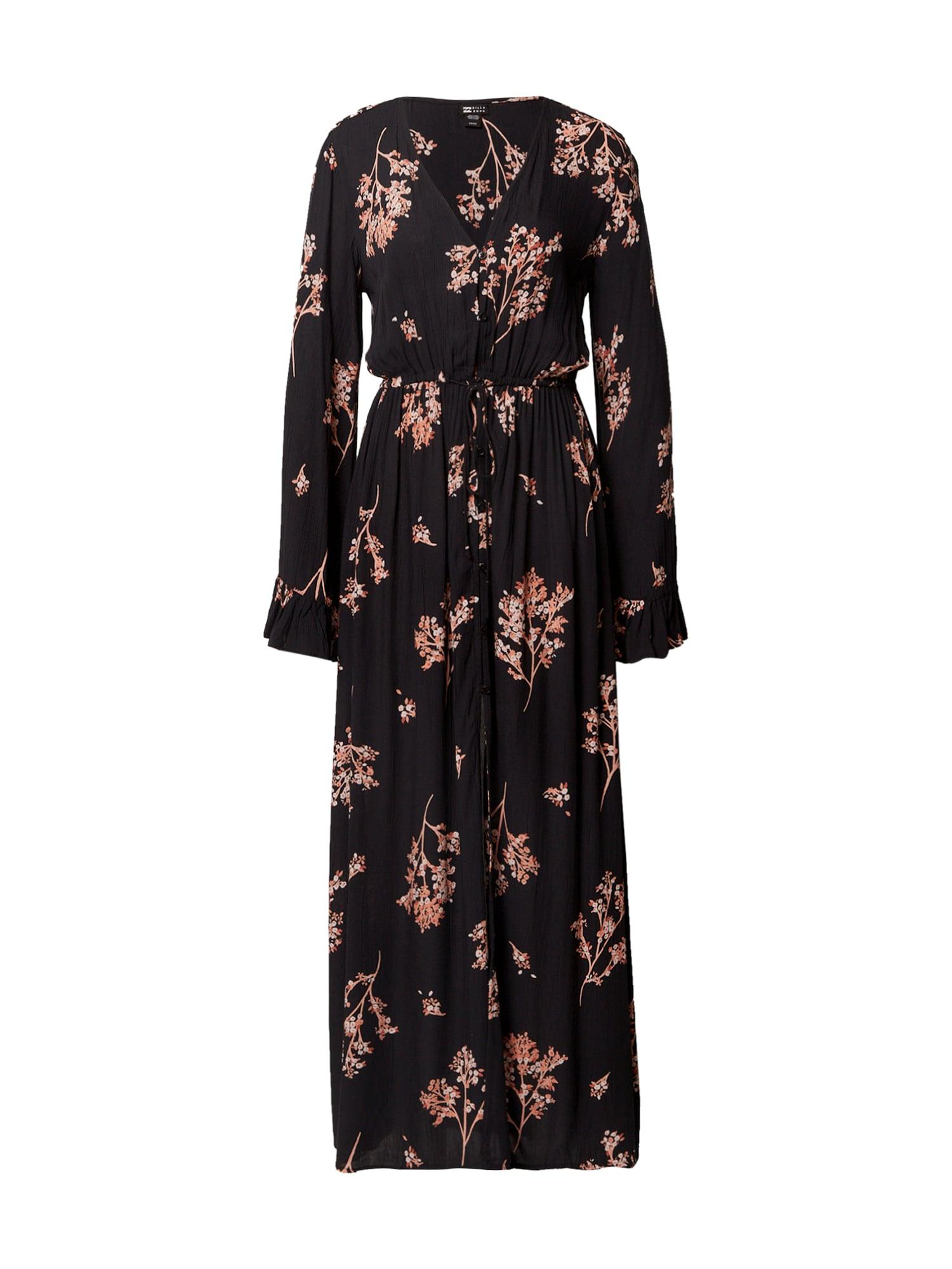 BILLABONG Suknelė juoda / rožinė