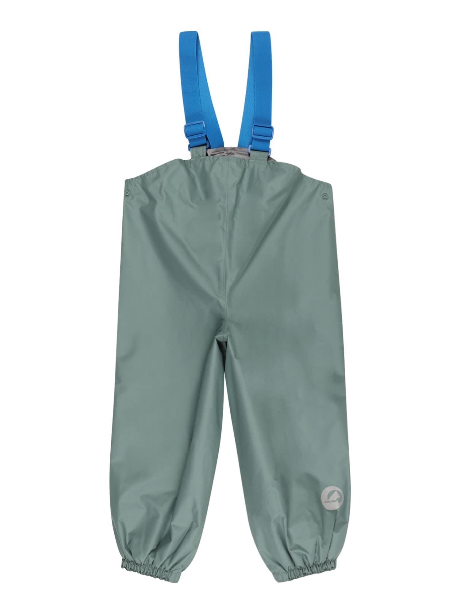 "FINKID Kombinezonas su petnešomis smaragdinė spalva / sodri mėlyna (""karališka"")"