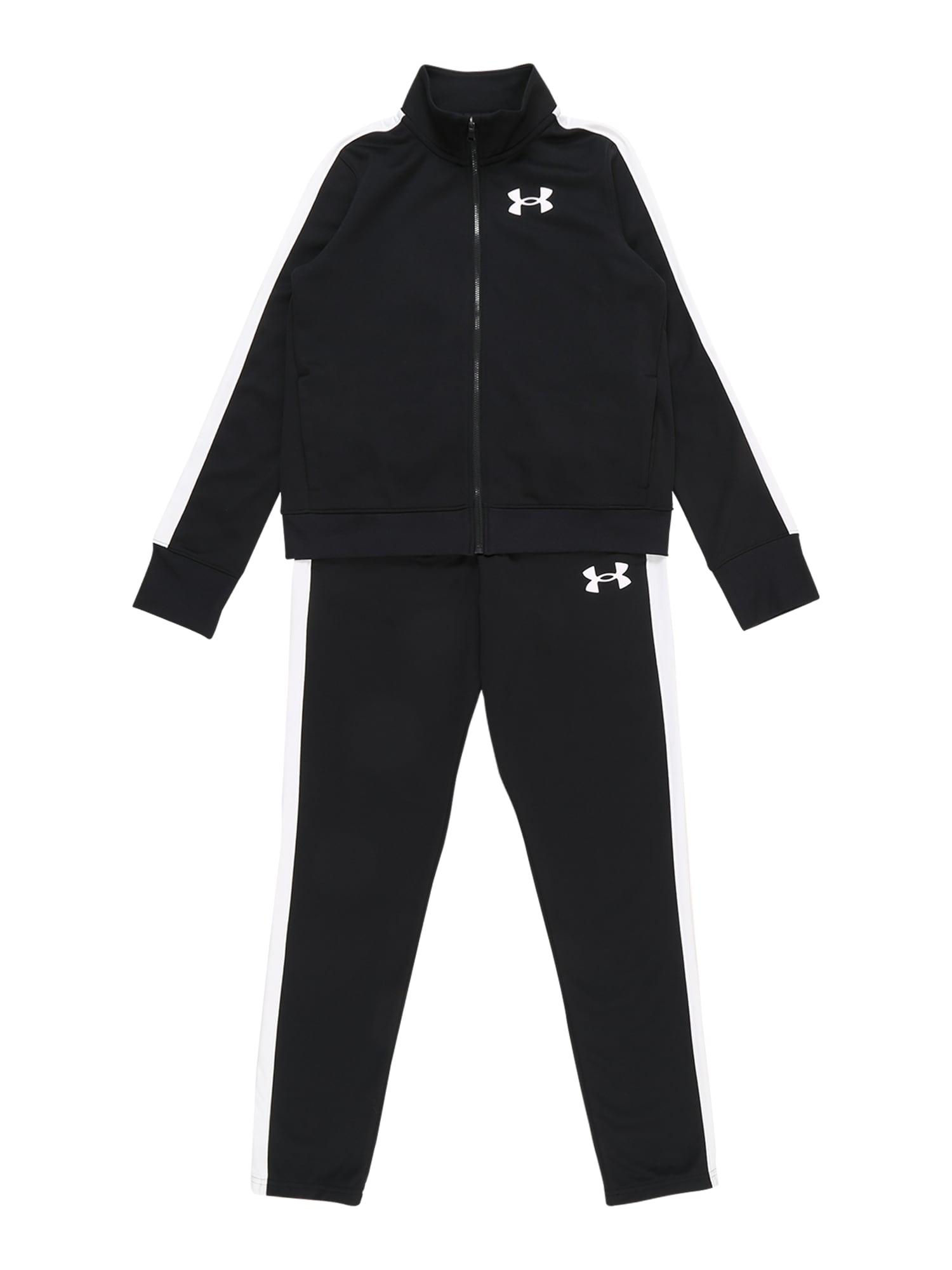 UNDER ARMOUR Sportinis kostiumas juoda / balta