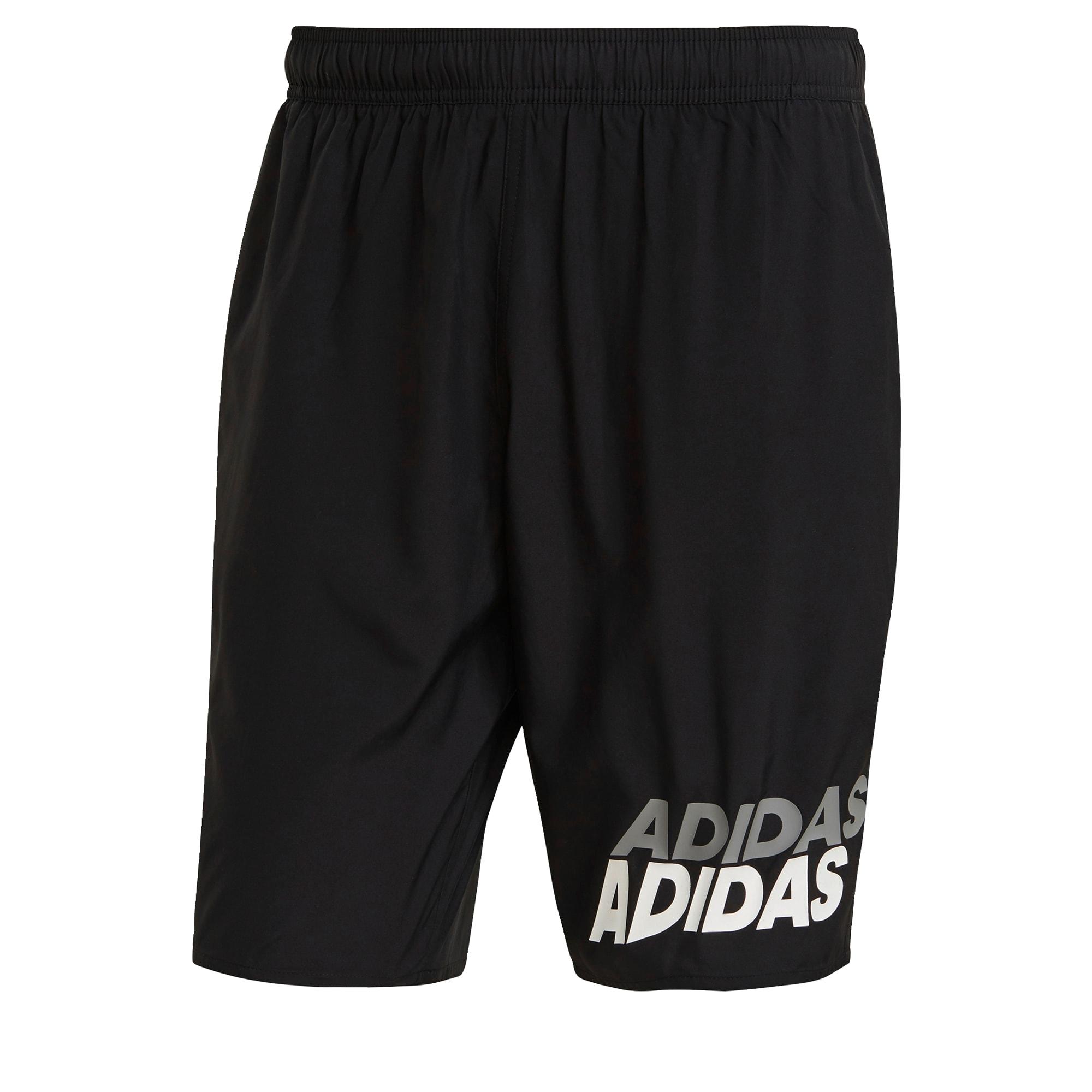 ADIDAS PERFORMANCE Sportinės glaudės juoda / pilka / balta