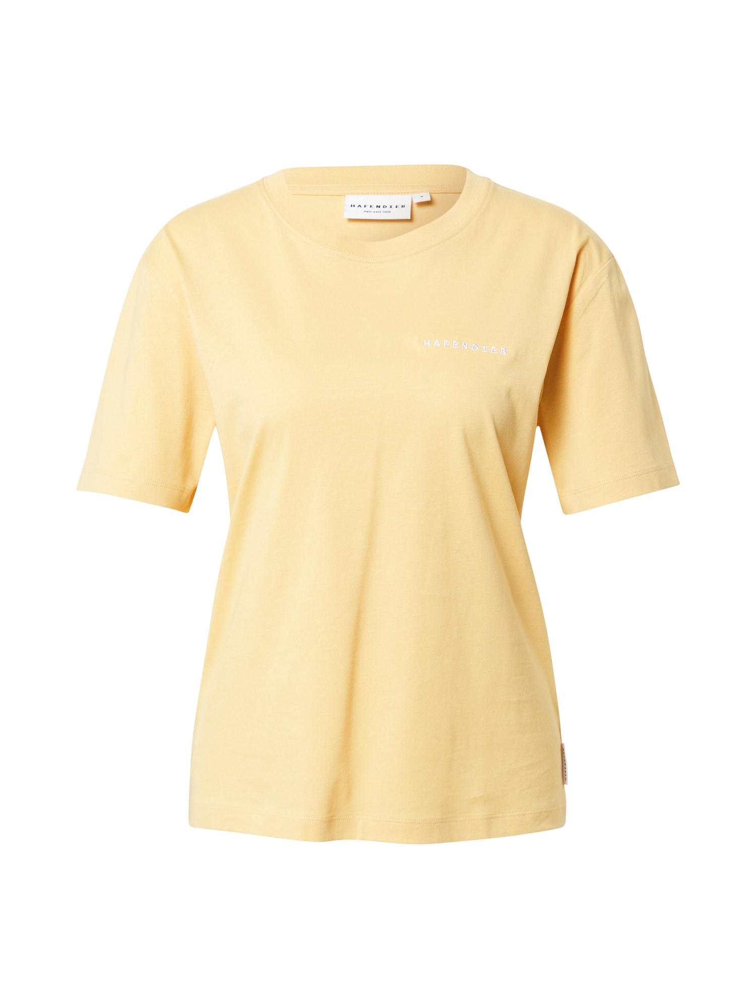 Hafendieb Marškinėliai šviesiai geltona / balta