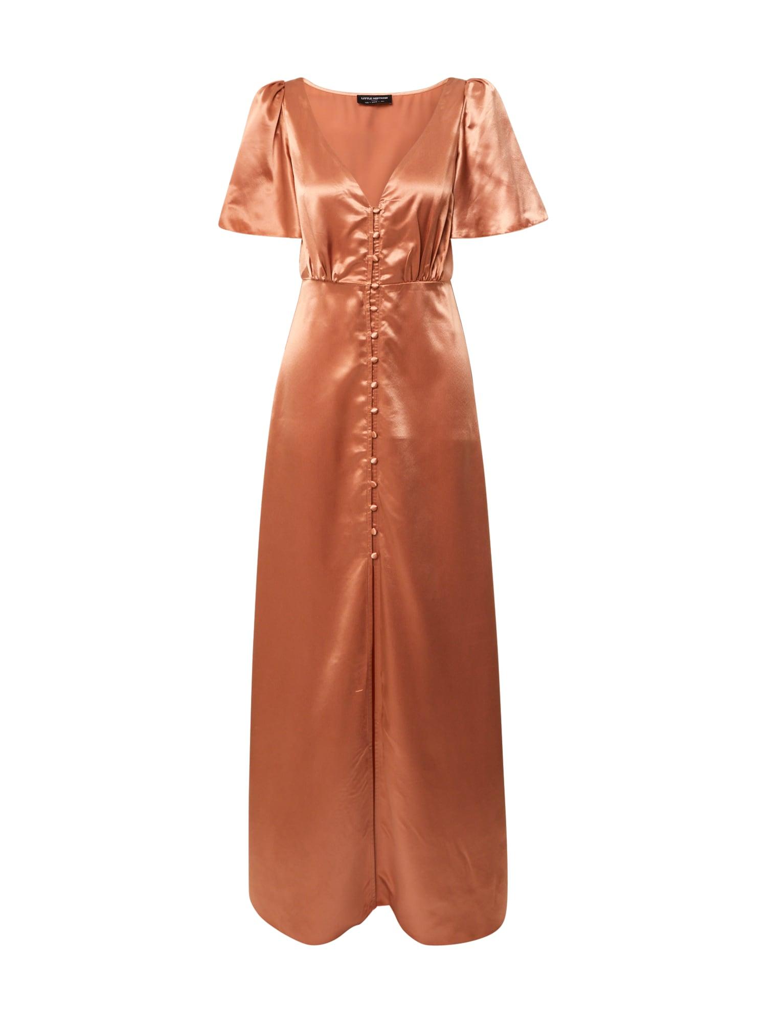 Little Mistress Palaidinės tipo suknelė rūdžių raudona