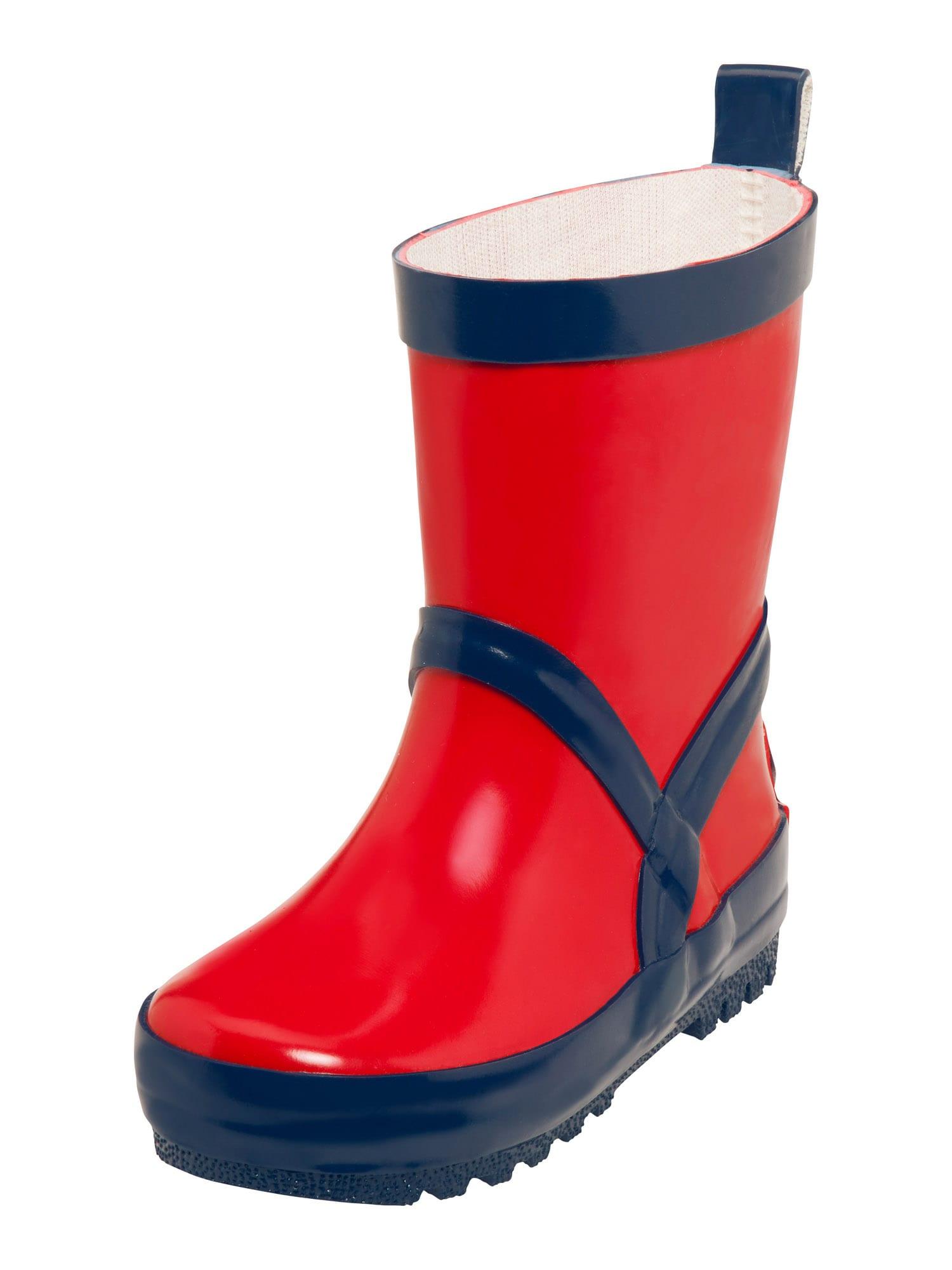 PLAYSHOES Guminiai batai tamsiai mėlyna / raudona