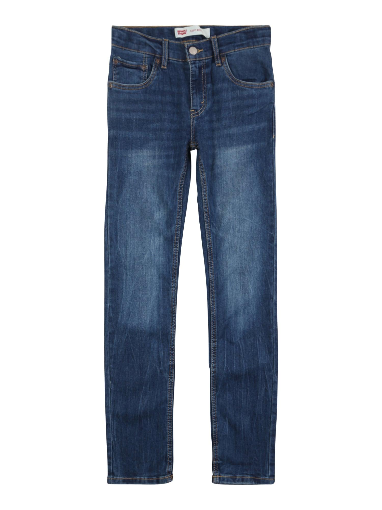 LEVI'S Džíny '510 Skinny Cozy'  modrá džínovina