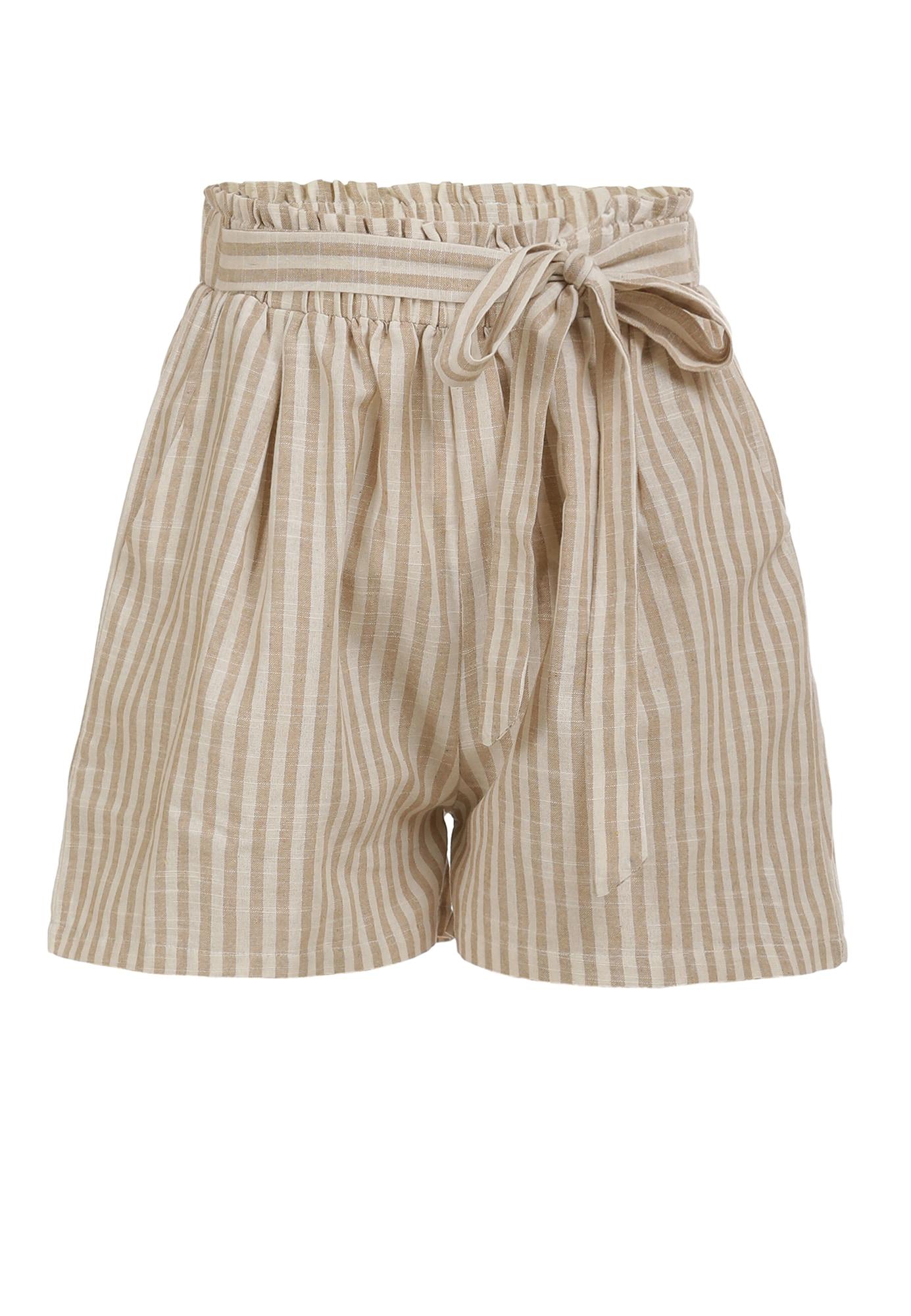 DreiMaster Vintage Kelnės smėlio / balta