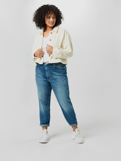 Only Carmakoma Eneda Life Hoch taillierte Mom Jeans