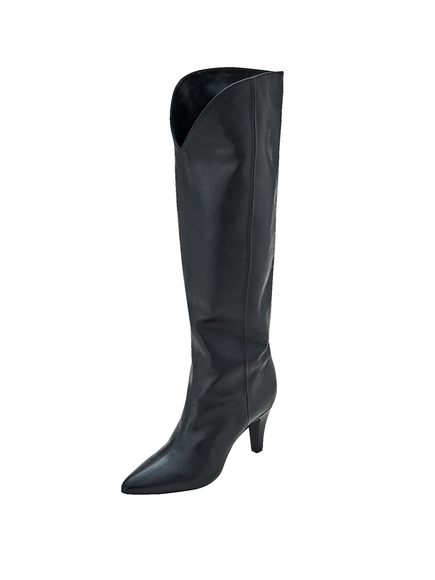 EDITED Auliniai batai su kulniuku 'Desdemona' juoda