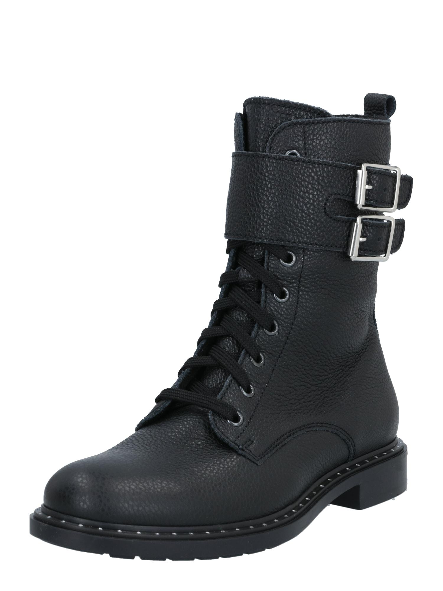 RICHTER Auliniai batai su kulniuku juoda