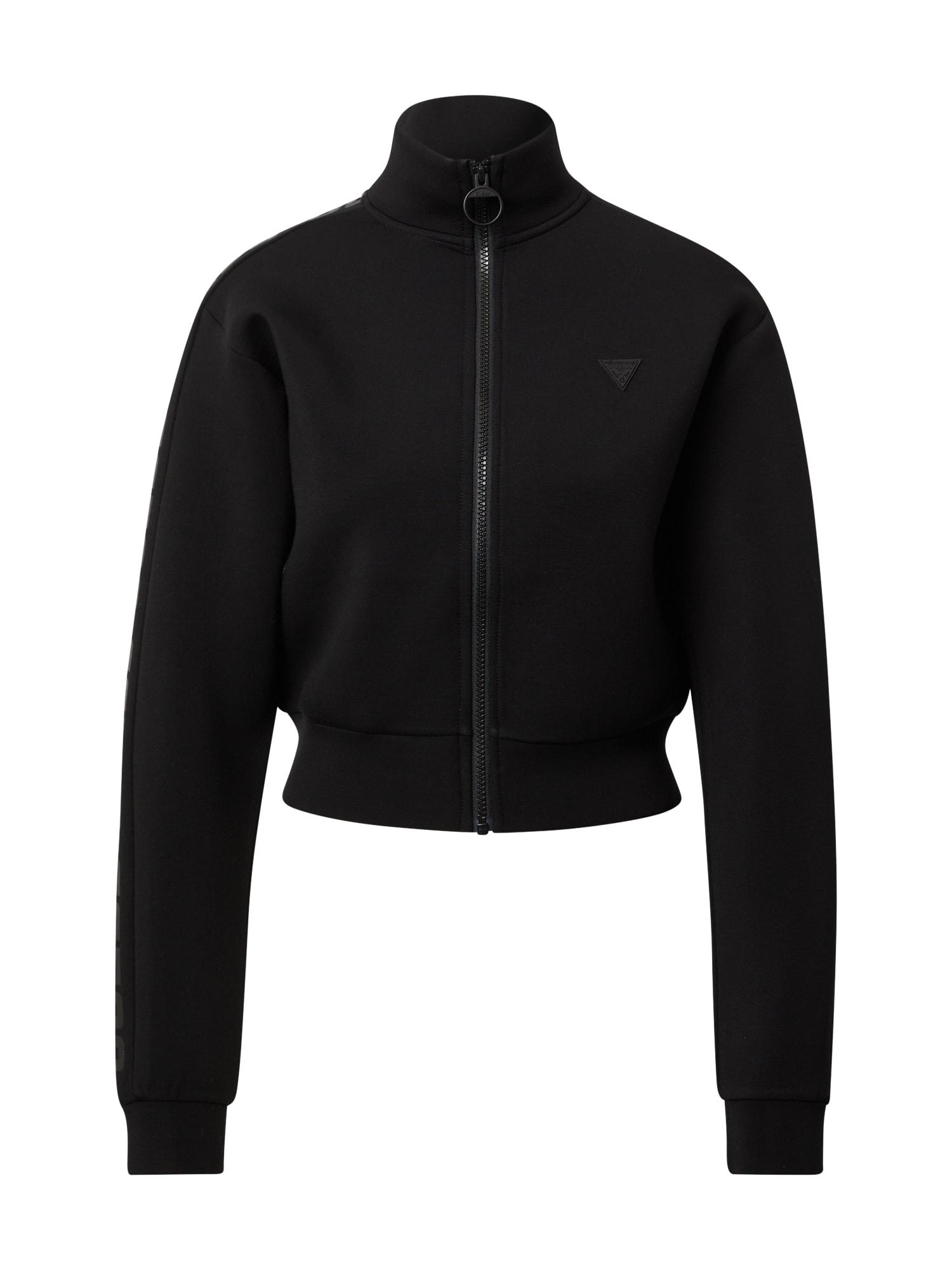 GUESS Sportinis džemperis juoda