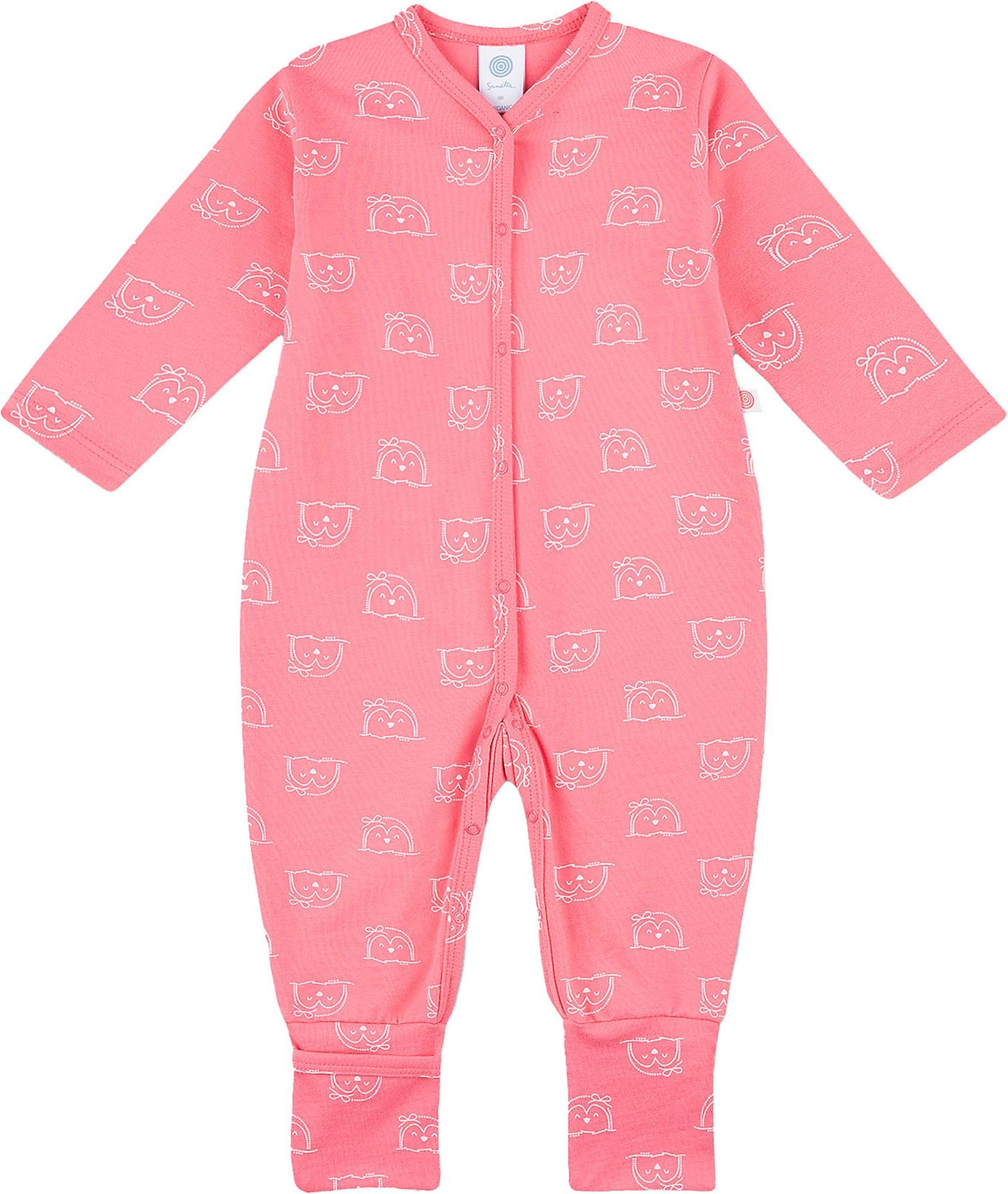 SANETTA Miego kostiumas balta / rožinė