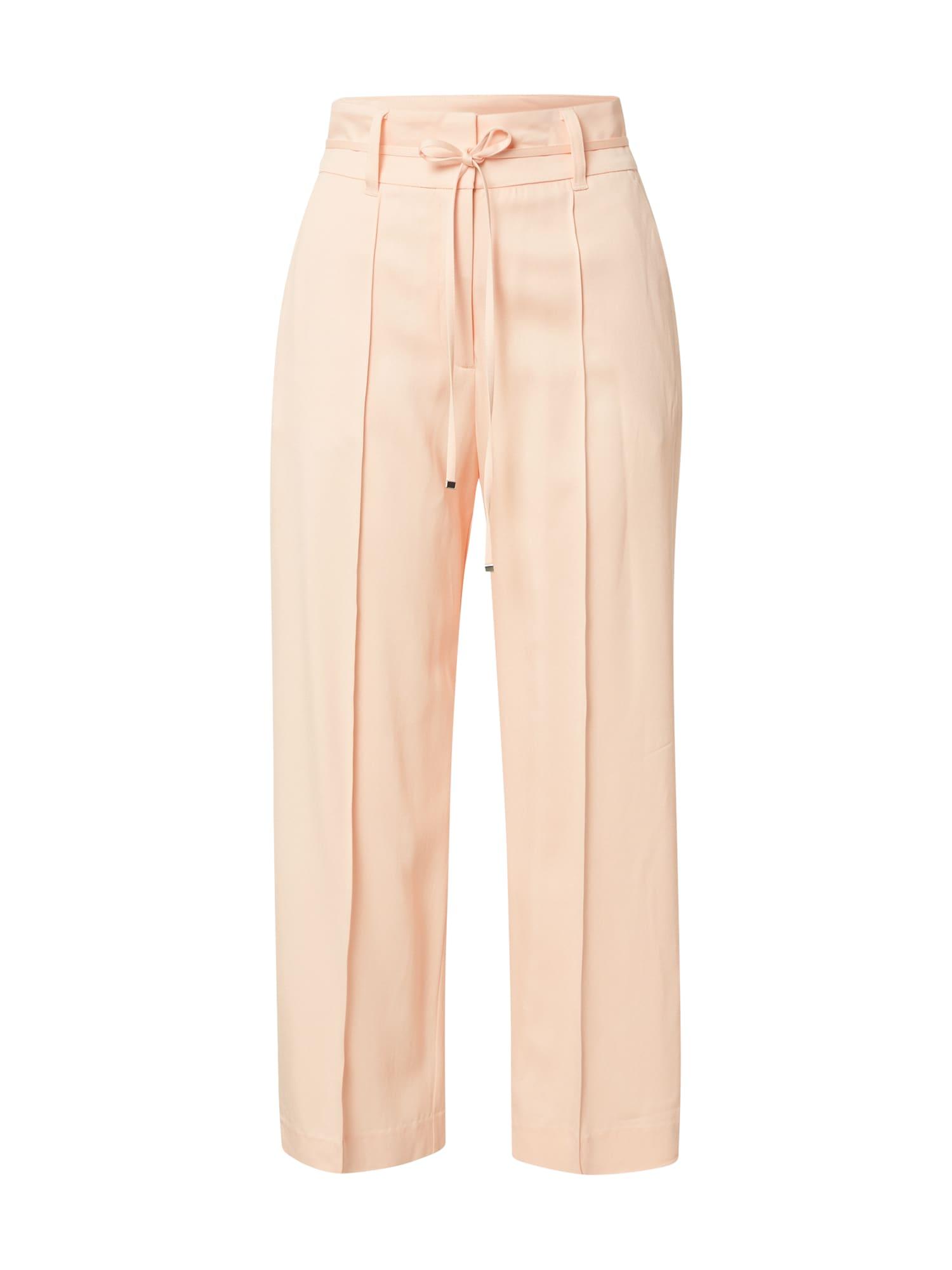 s.Oliver BLACK LABEL Kelnės su kantu rožinė