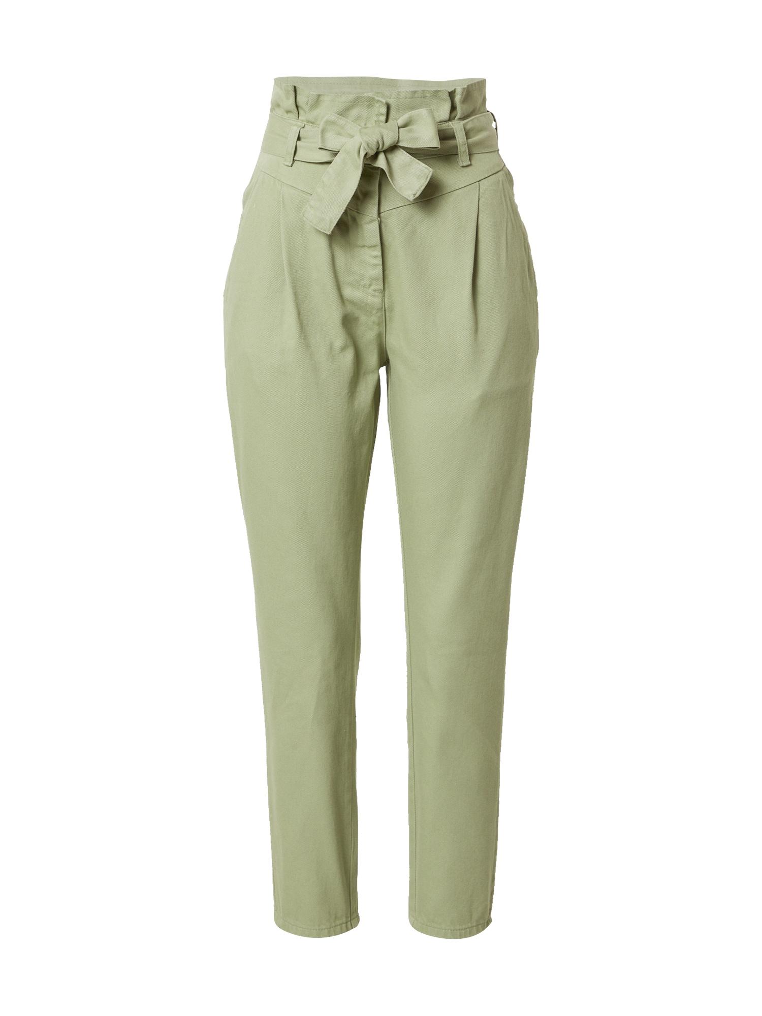 Trendyol Džinsai su kantu rusvai žalia