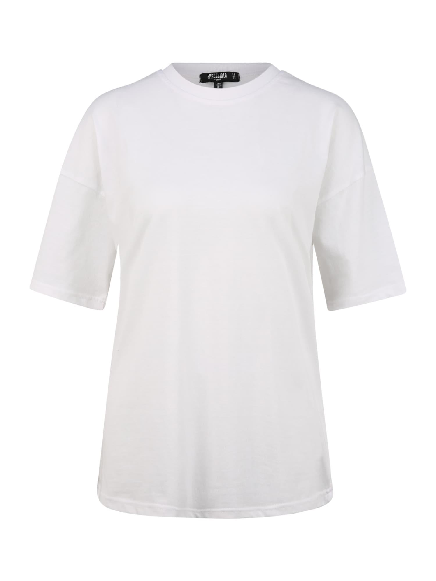 Missguided (Petite) Marškinėliai balta