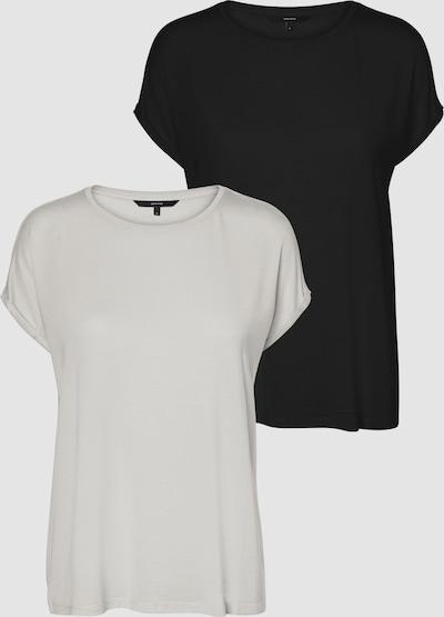 Vero Moda Tall Ava T-Shirt mit kurzen Ärmeln und Rundhals 2er-Pack