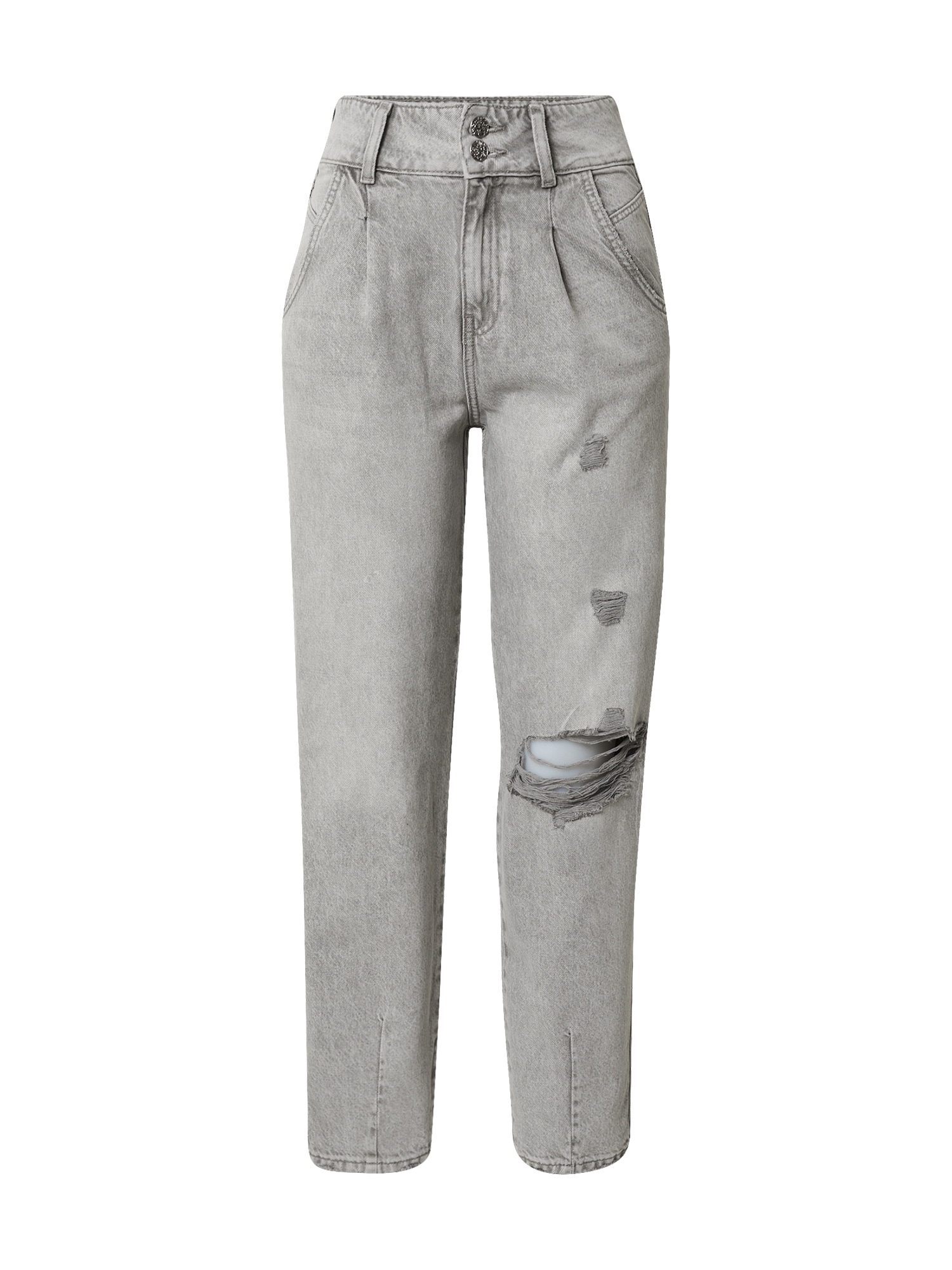 Tally Weijl Džinsai su kantu pilko džinso