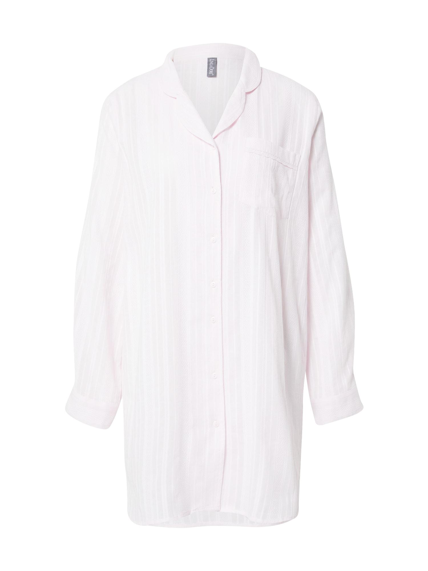 LingaDore Pižaminiai marškinėliai balta