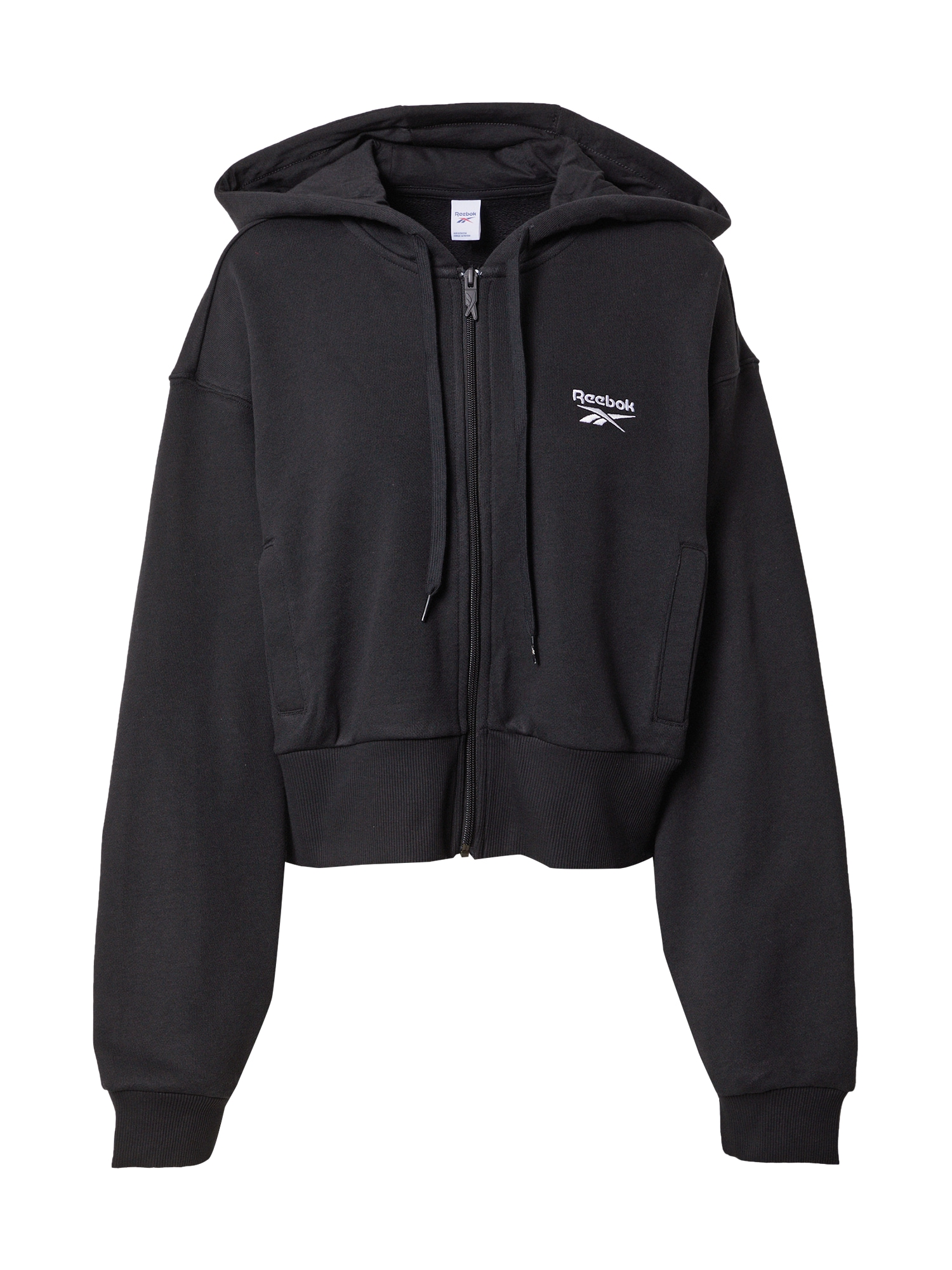 Reebok Classics Džemperis juoda / balta